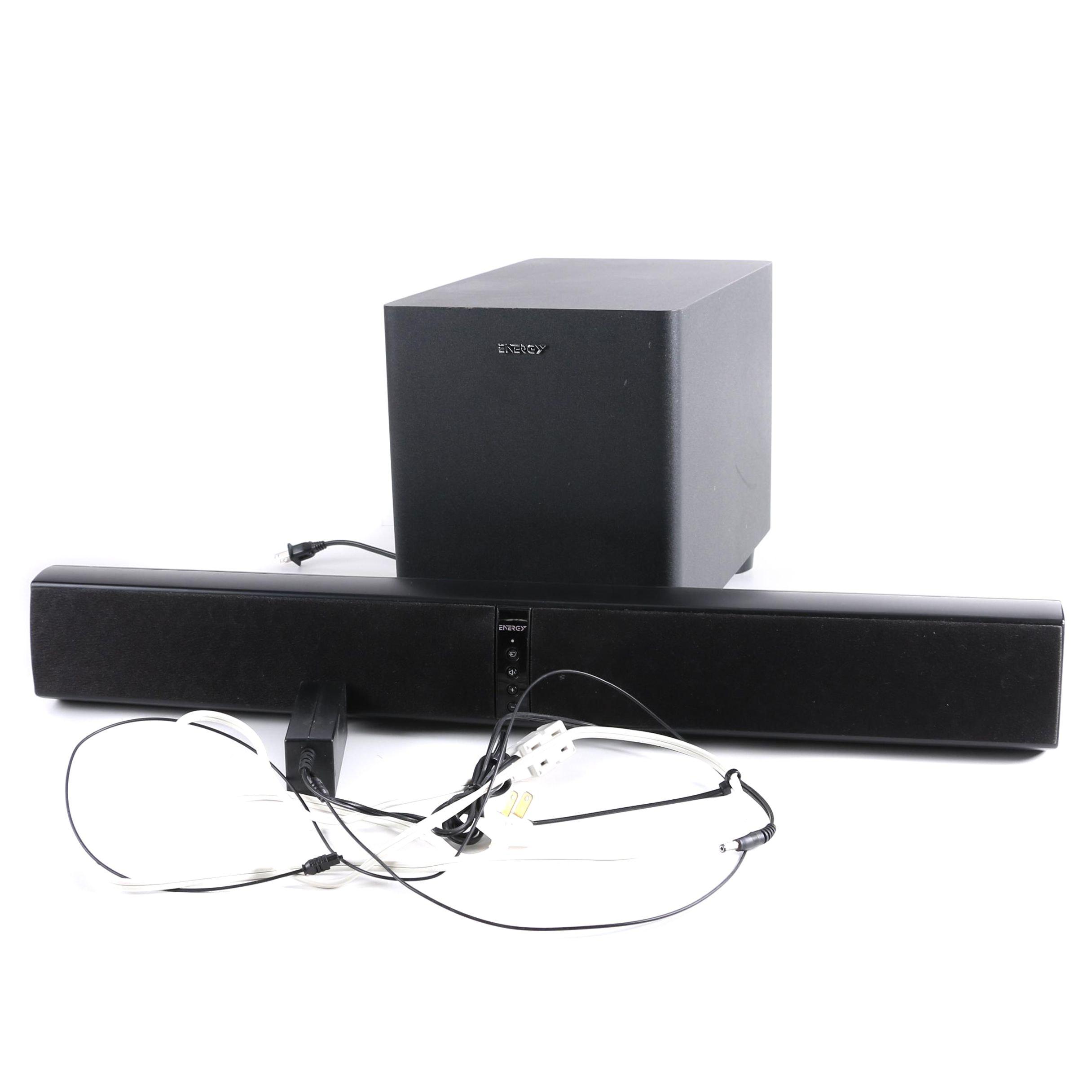 Energy Power Bar Soundbar and Subwoofer