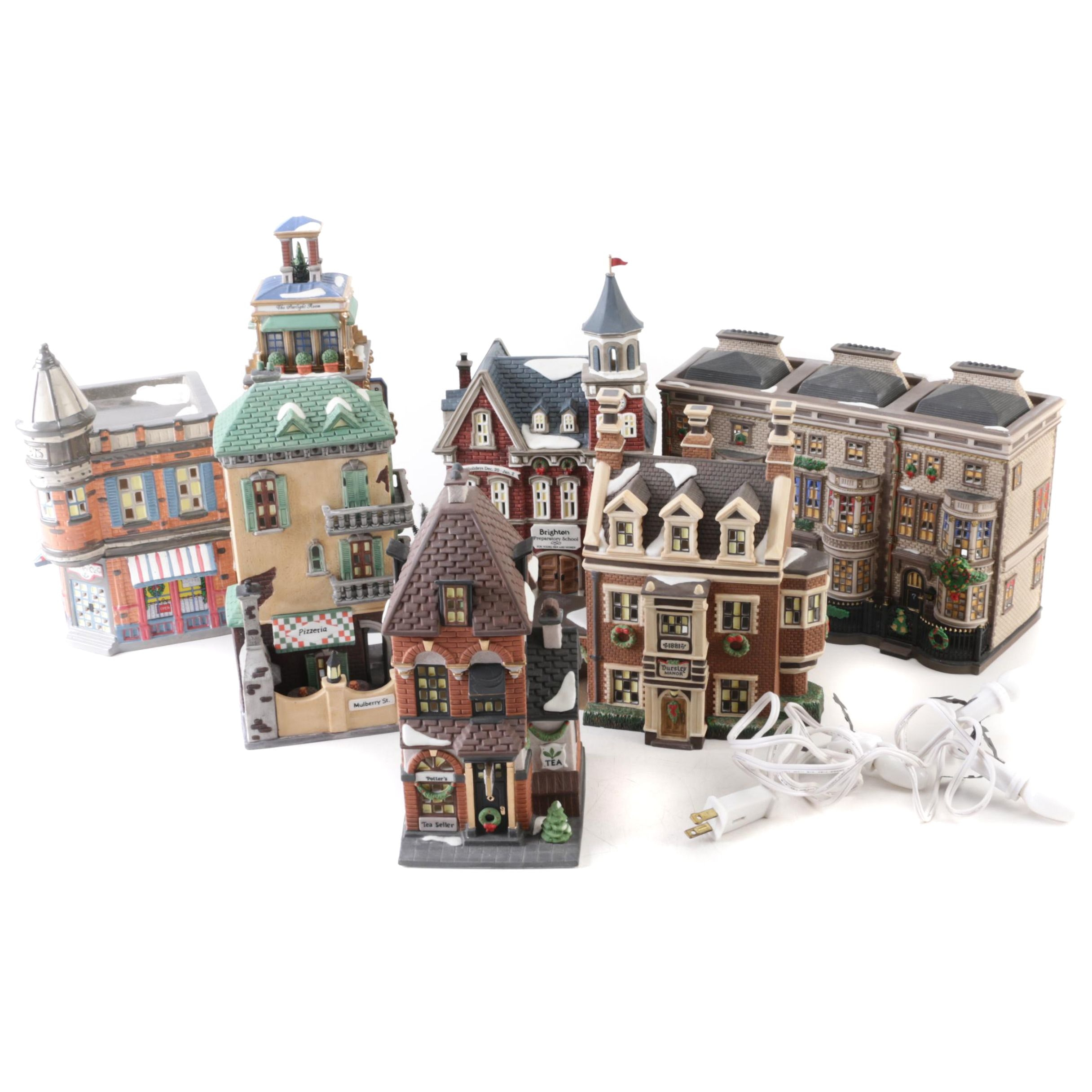 Department 56 Snow Village and Dickens Village Buildings