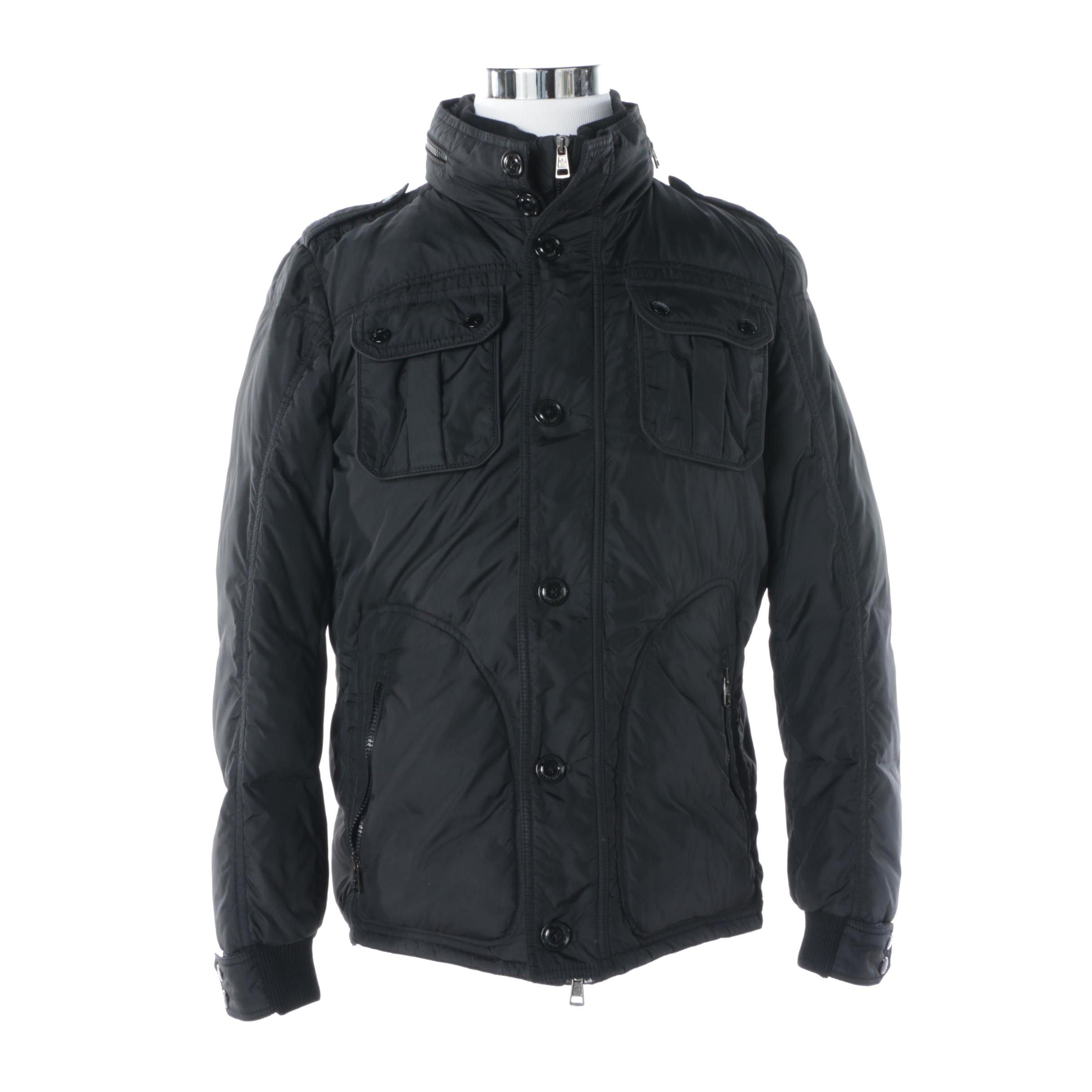 Men's Moncler Black Down Winter Jacket