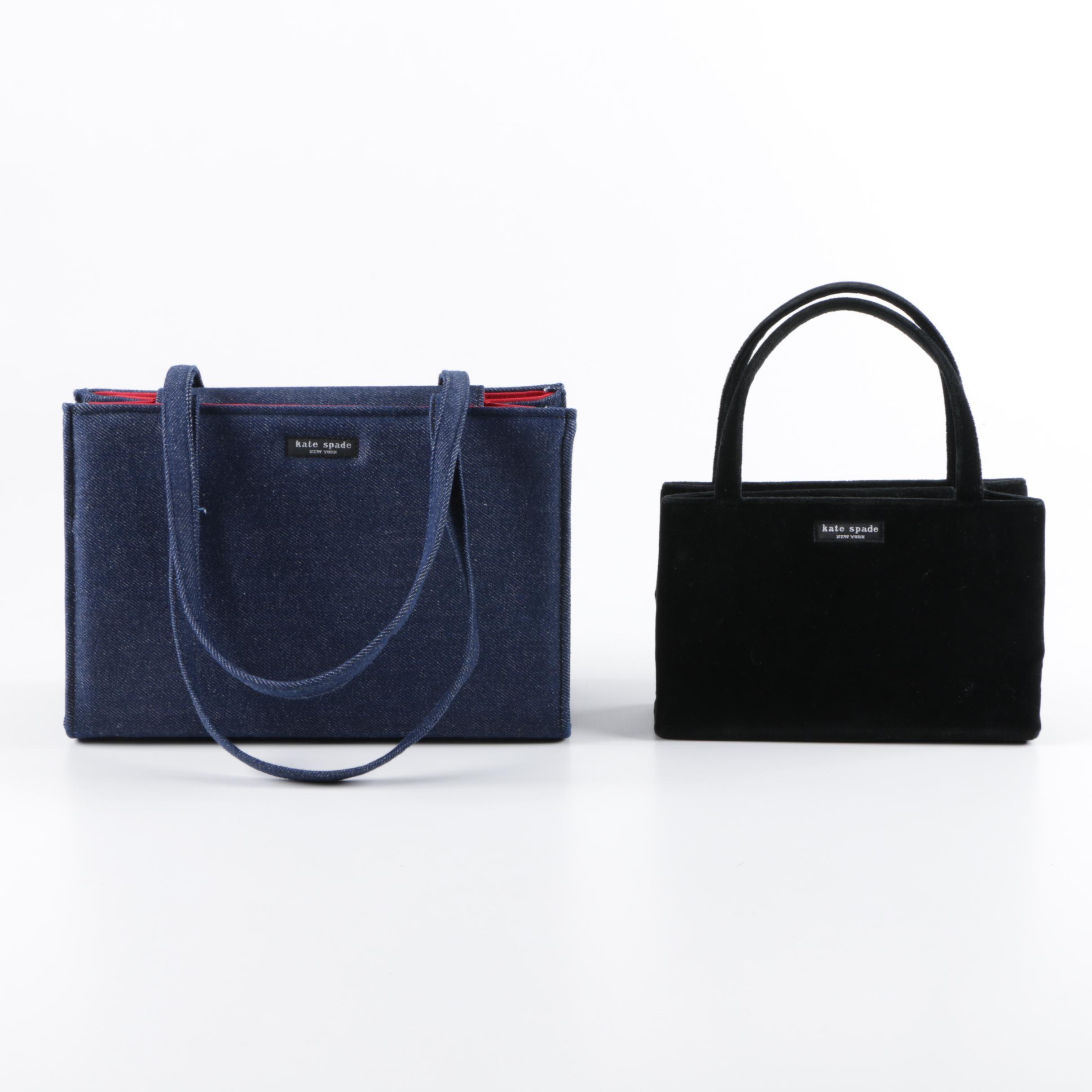 Kate Spade New York Fabric Tote Bags