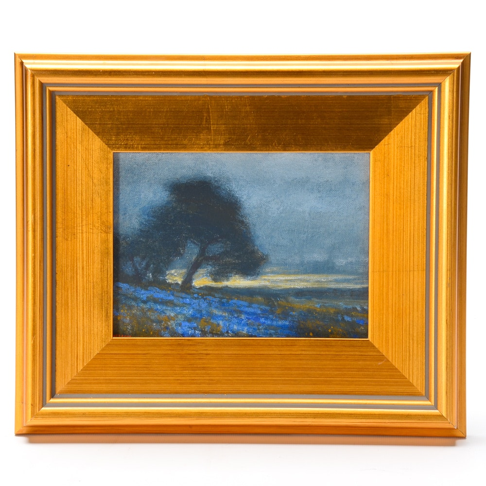 Nelson Oil Painting of a Landscape