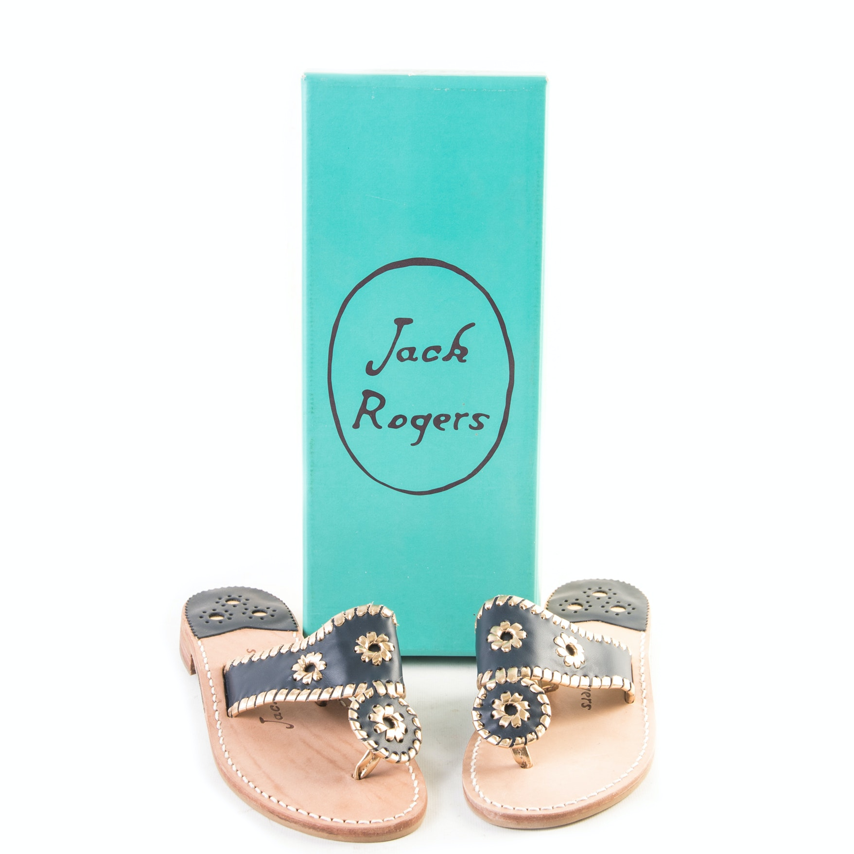 "Jack Rogers ""Nantucket"" Thong Sandals"