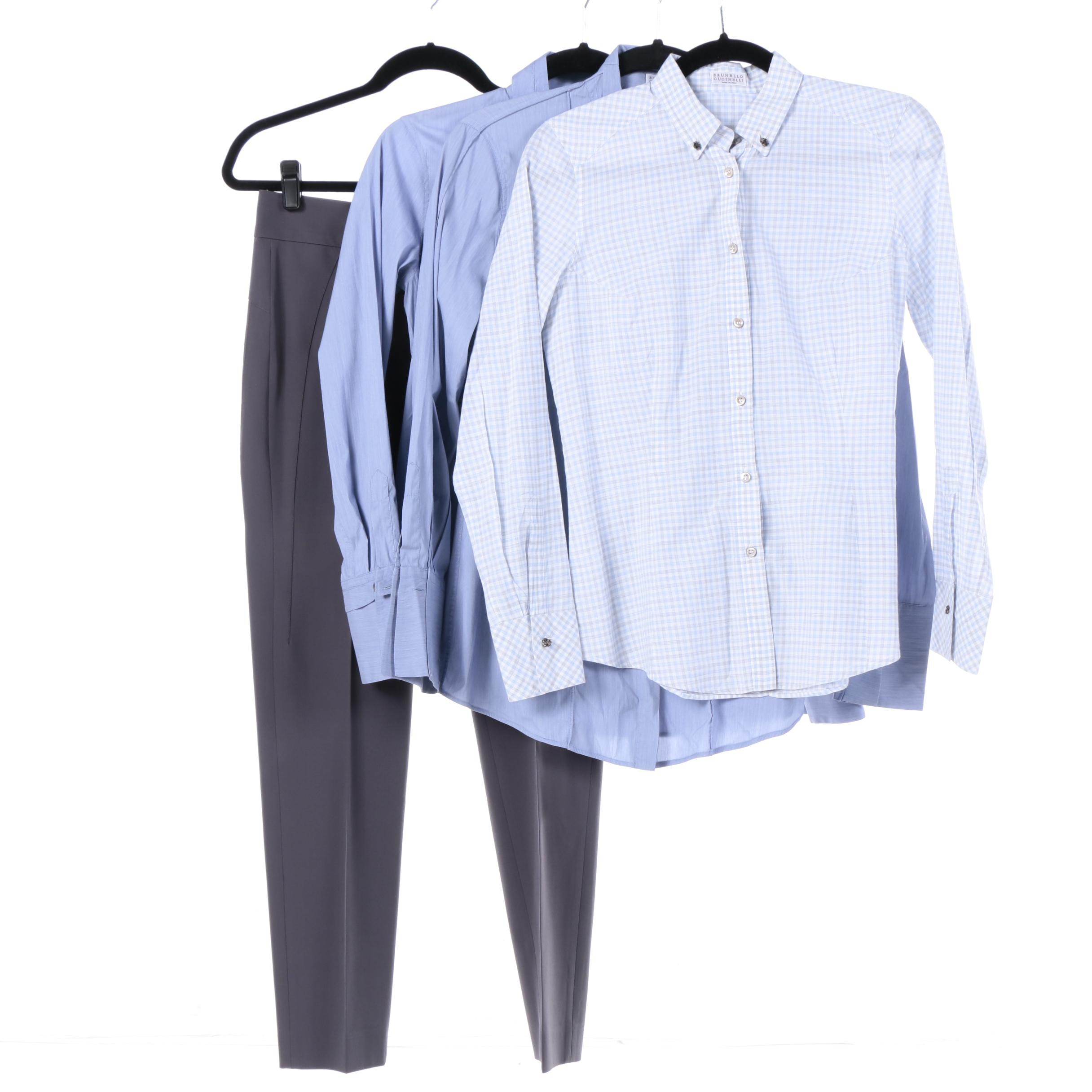 Brunello Cucinello Button-Down Shirts and Pants