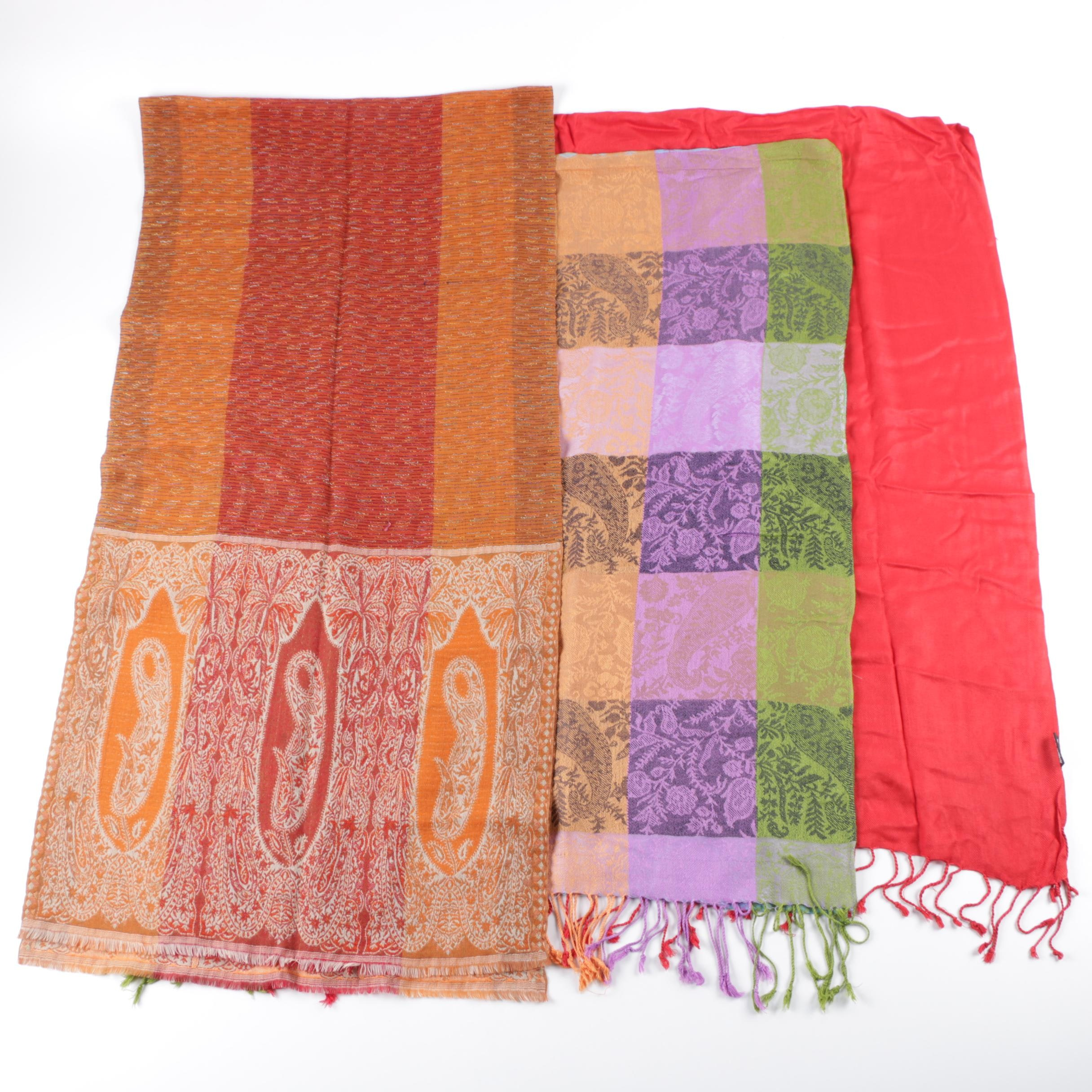 Pashmina and Wrap Scarves