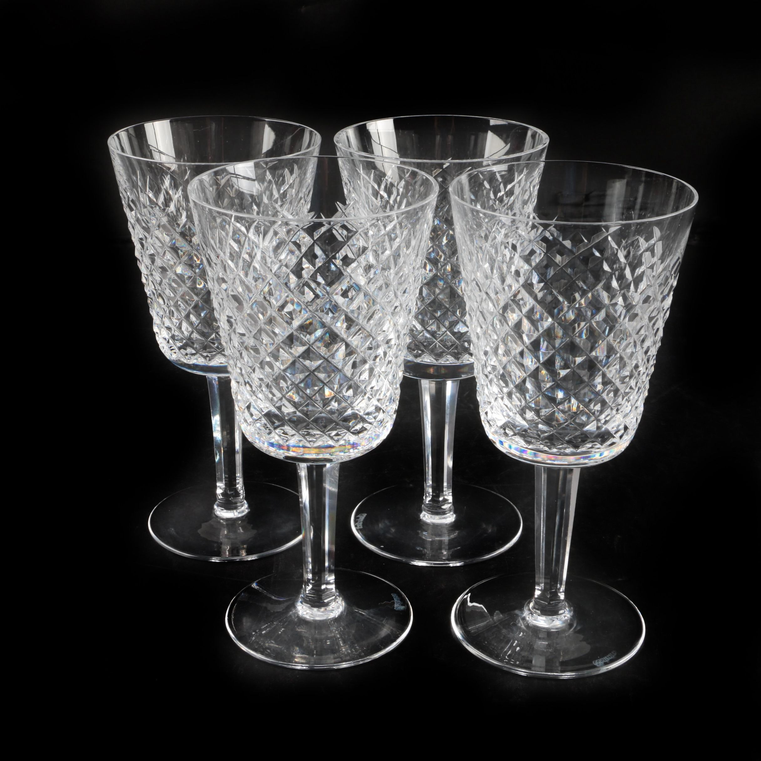 "Waterford Crystal ""Alana"" Water Goblets"