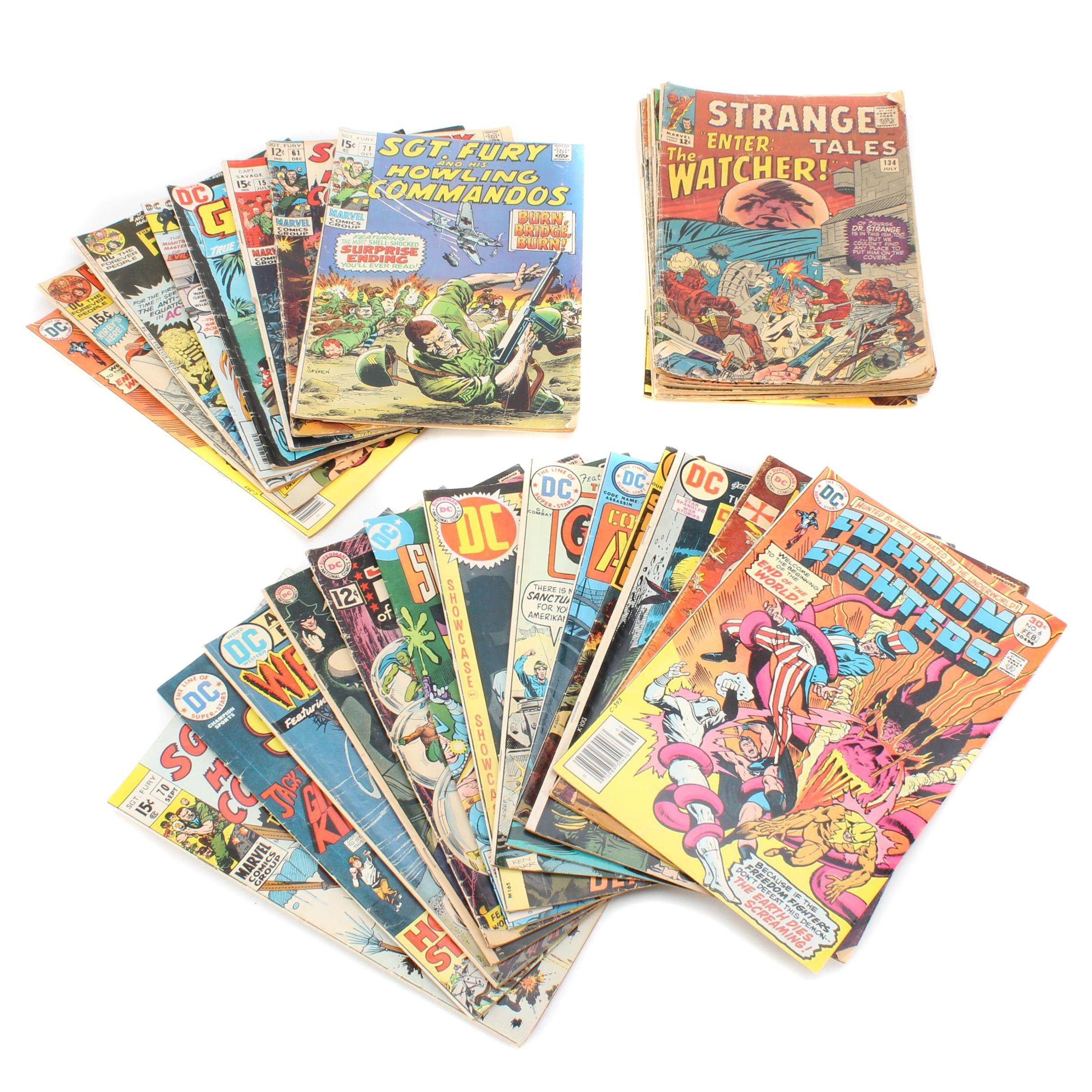Bronze Age DC and Marvel Comic Books