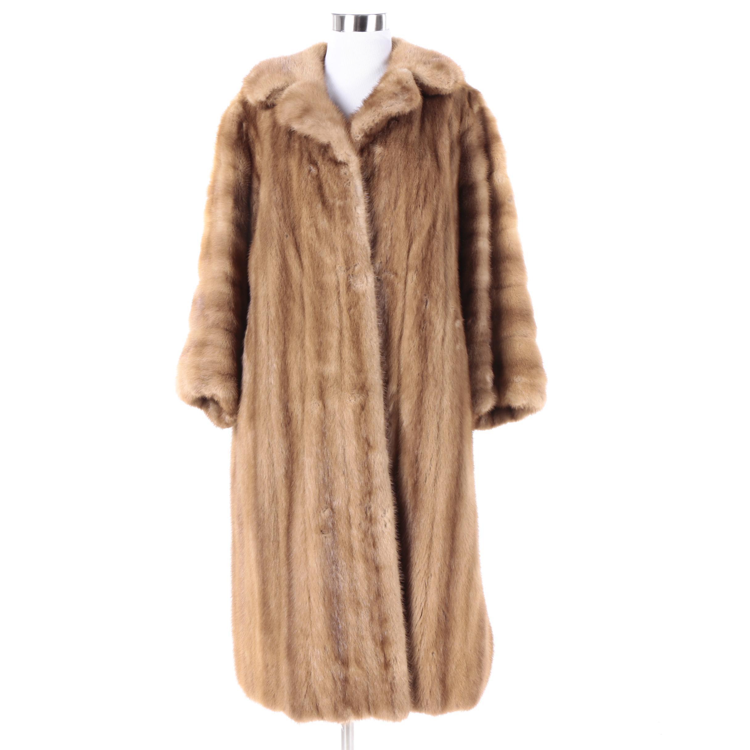 Women's Vintage Paul Klink Furs Mink Fur Coat
