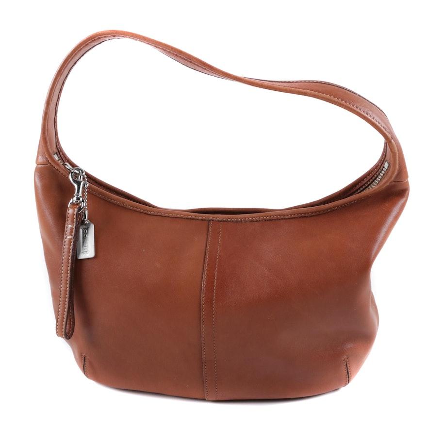 1057ec387e9b2 ... best price 2002 coach ergo whiskey brown leather hobo bag df181 f1851