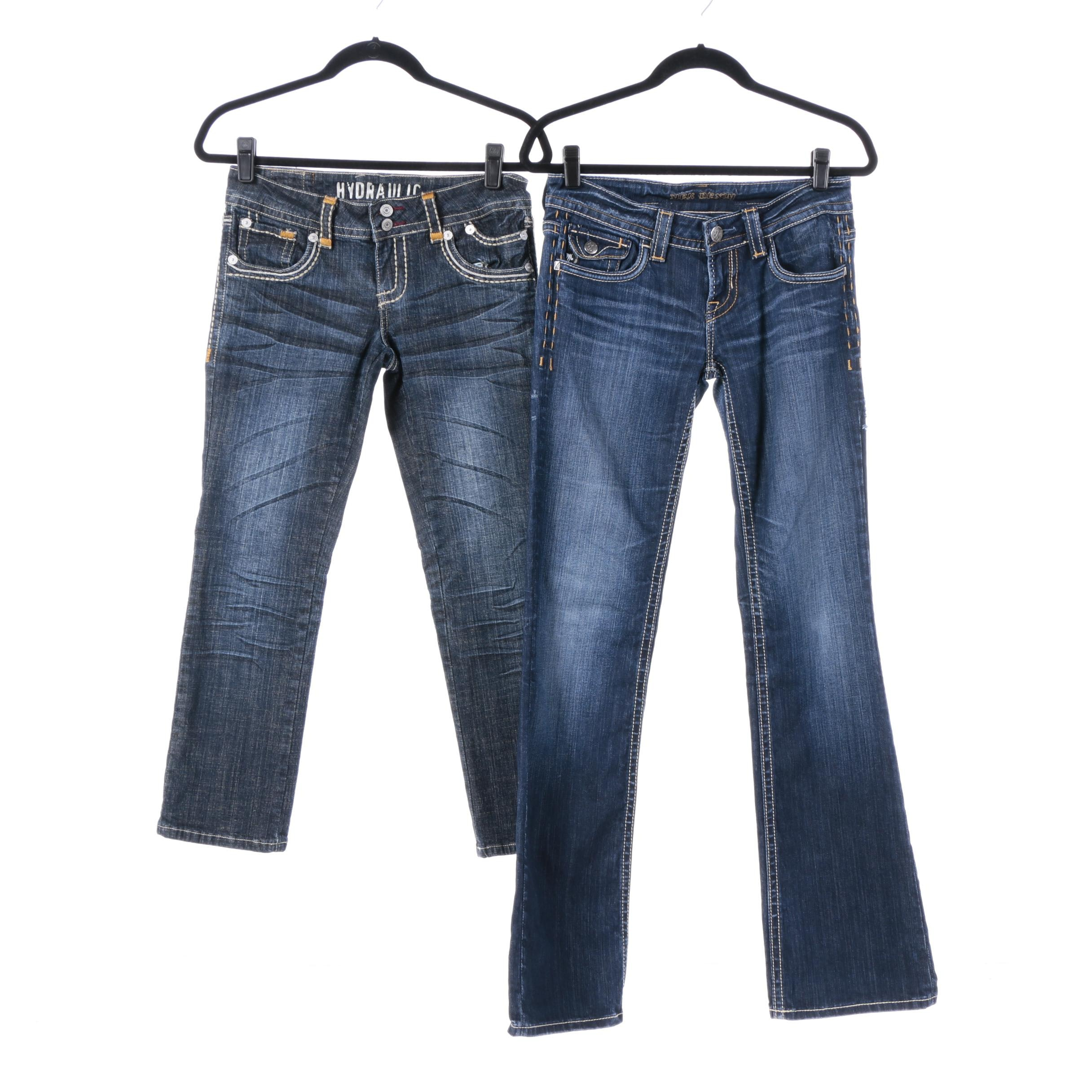 Women's Jeans Including Hydraulic and Mek Denim