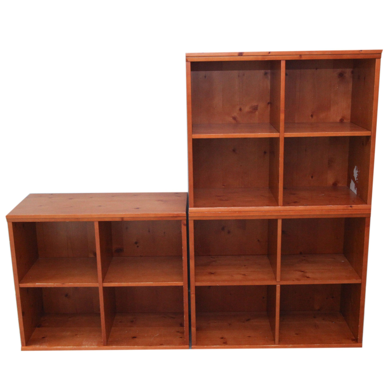 Stackable Pine Shelves