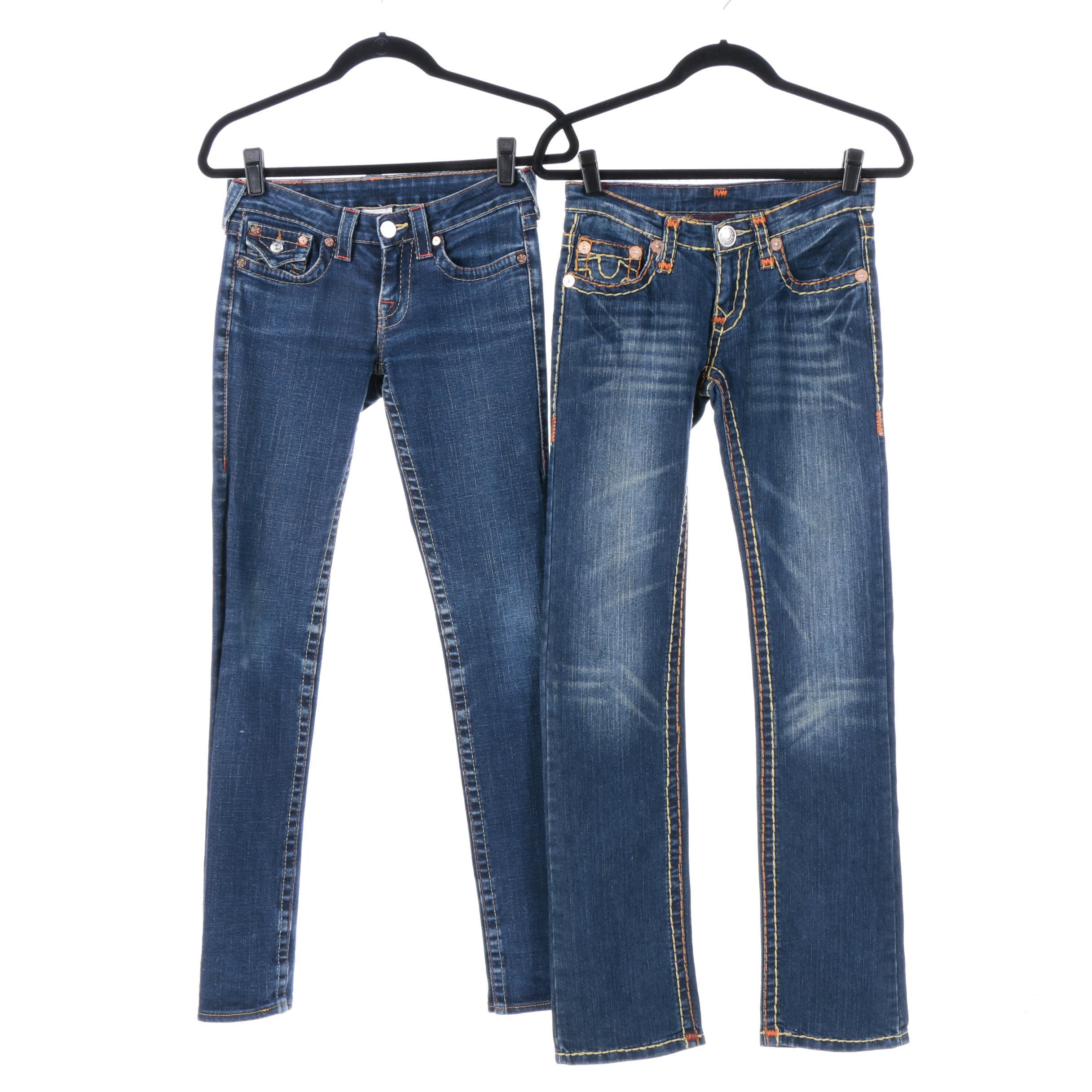 Women's True Religion Brand Jeans
