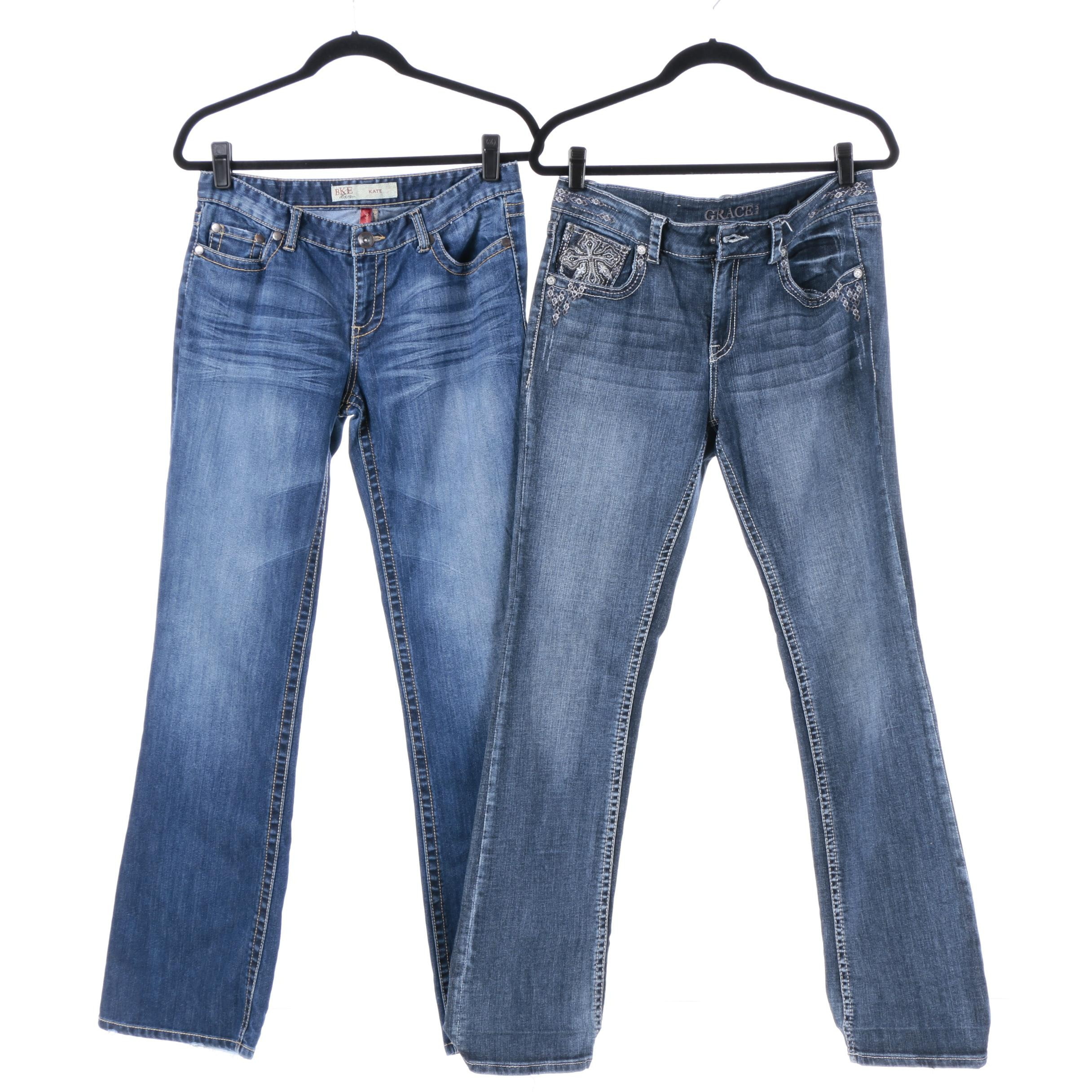 Women's Jeans Including BKE Denim and Grace in L.A.
