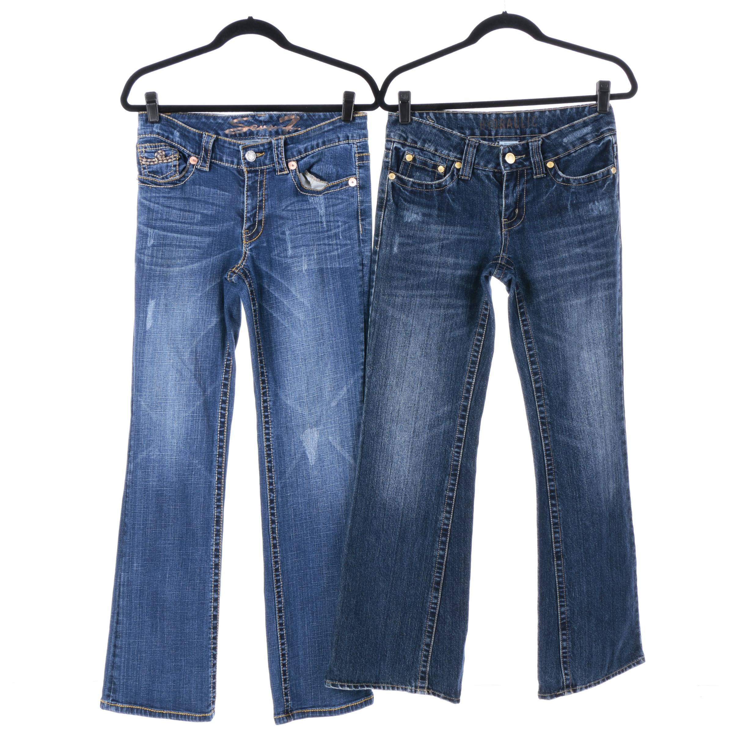 Women's Jeans Including Seven7 and Hydraulic