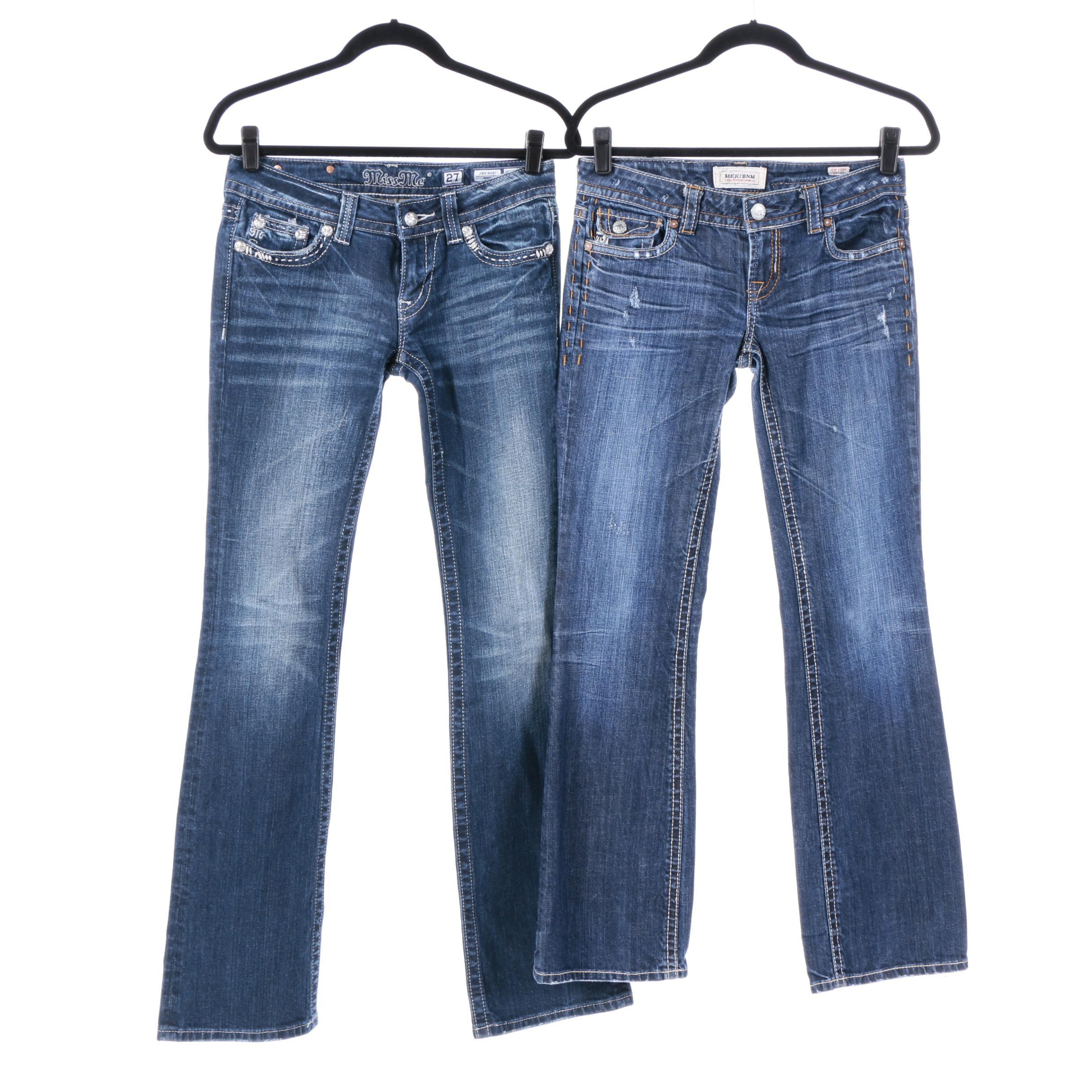 Women's Jeans Including Miss Me and Mek Denim
