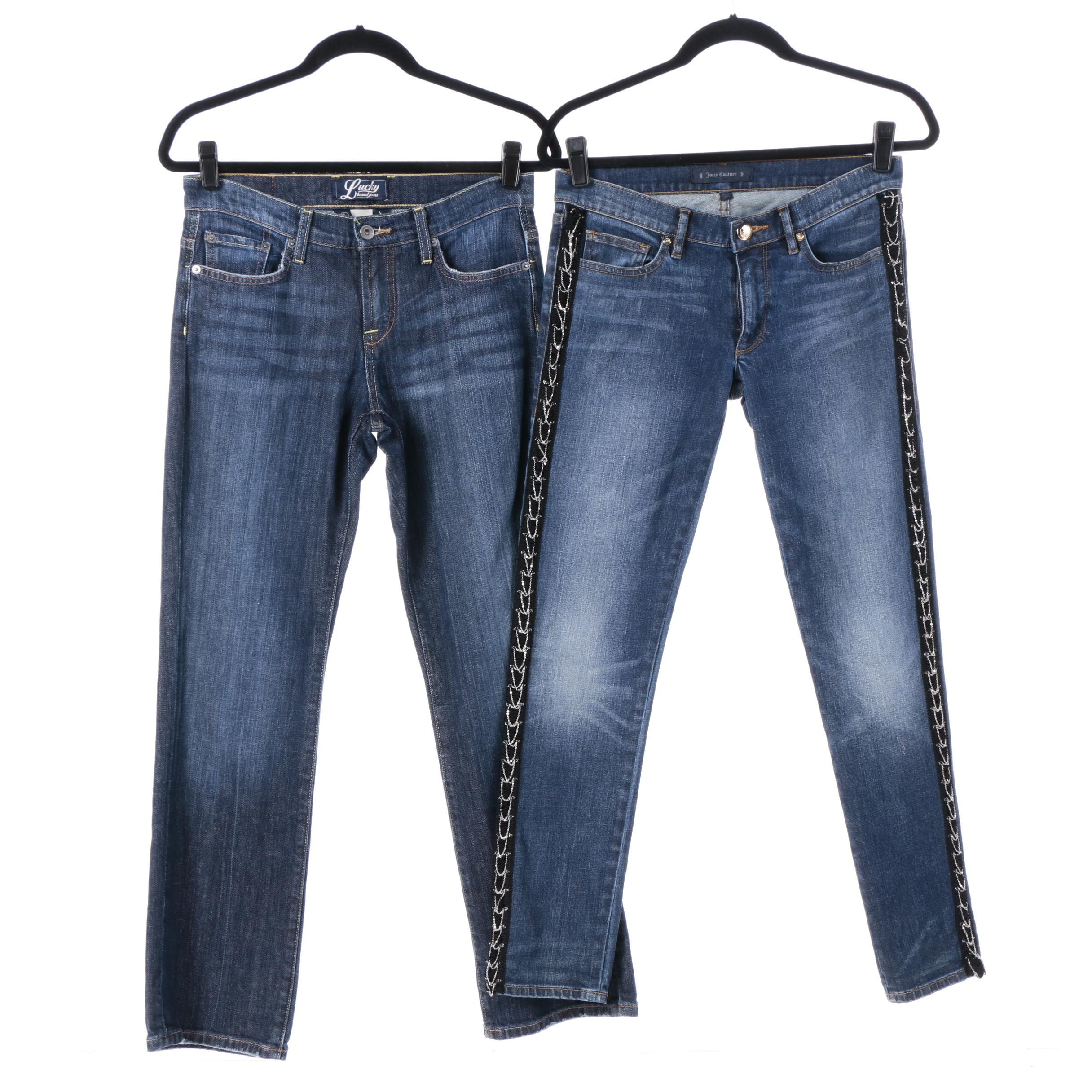 Women's Jeans Including Lucky Brand and Juicy Couture