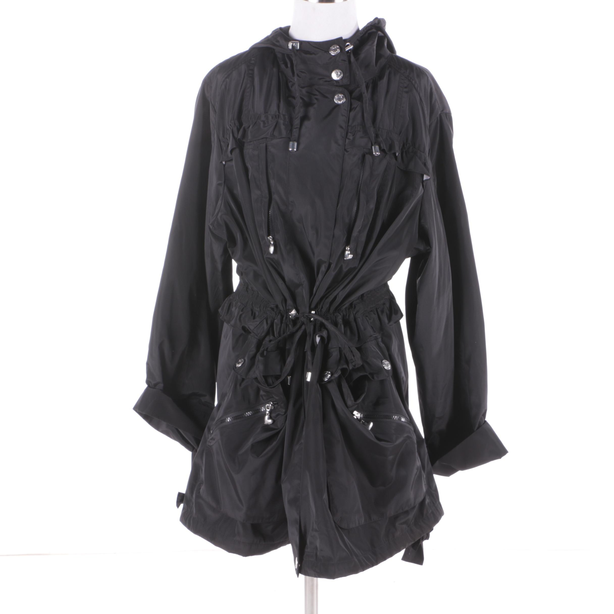 Women's Betsey Johnson Black Polyester Jacket