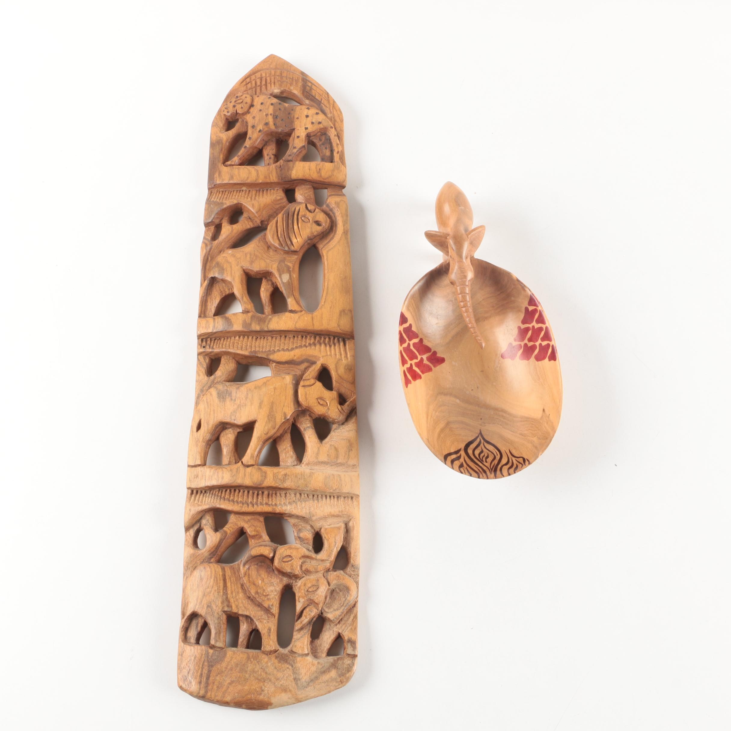 African Style Wood Carvings