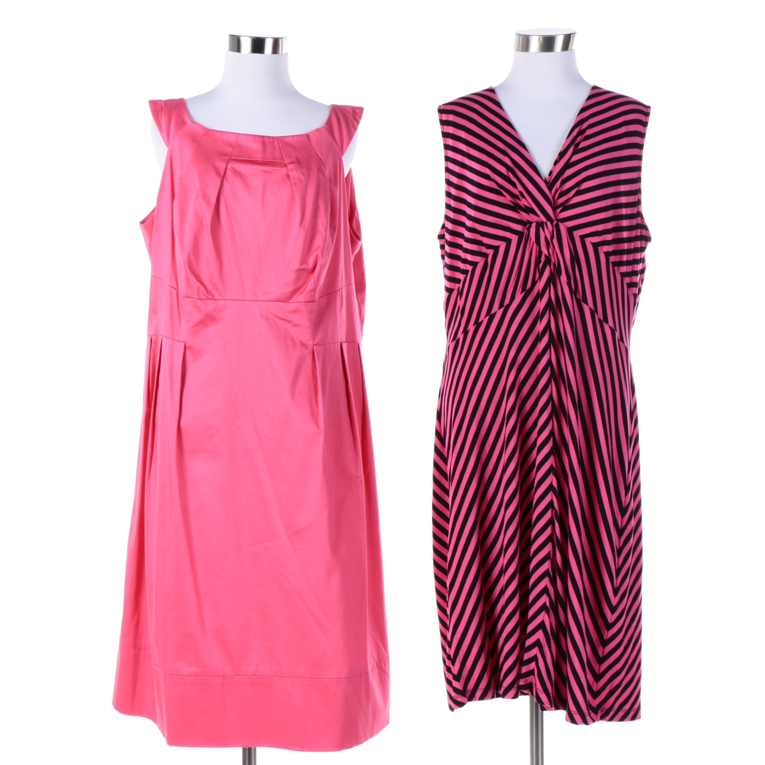 Calvin Klein and Peter Nygard Sleeveless Dresses