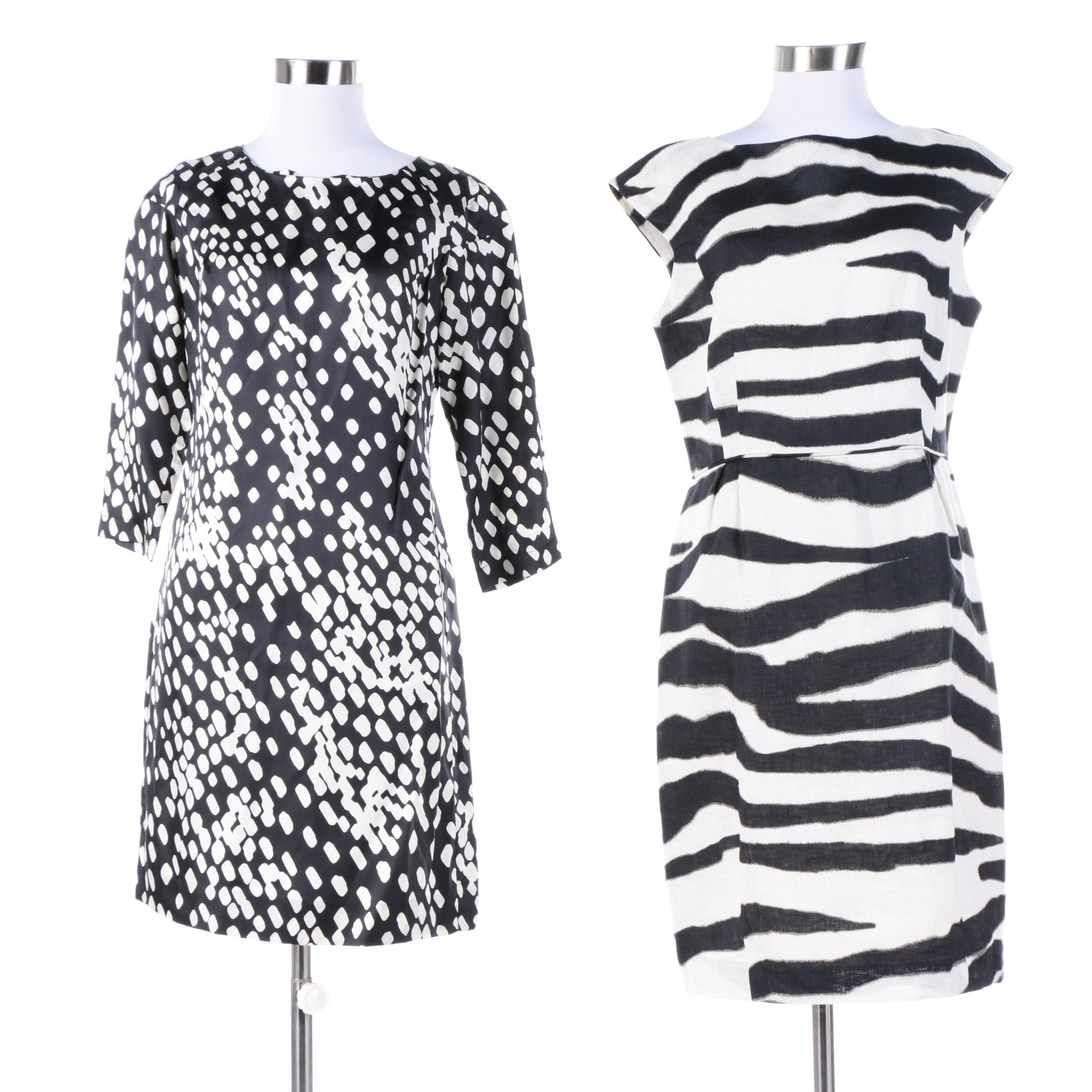 Banana Republic Black and White Dresses