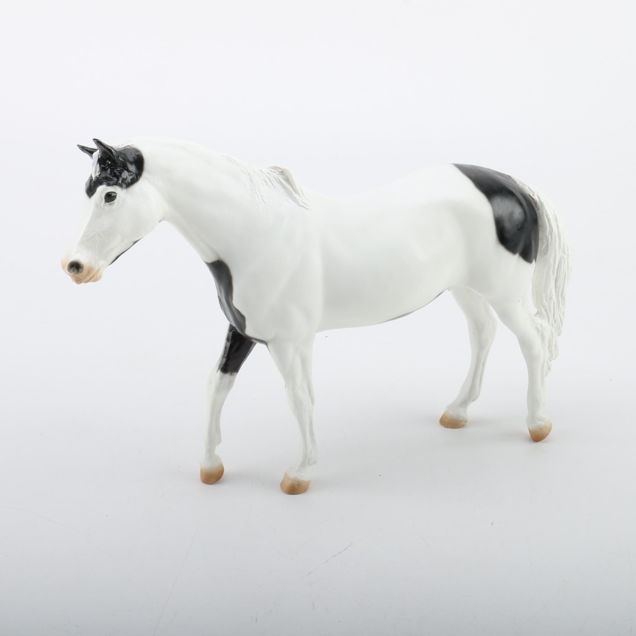 Limited Edition Porcelain Horse Figurine