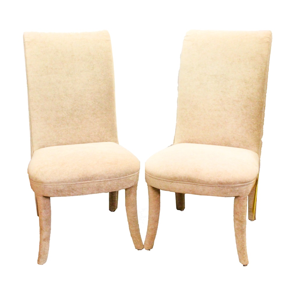 Contemporary Upholstered Side Chairs