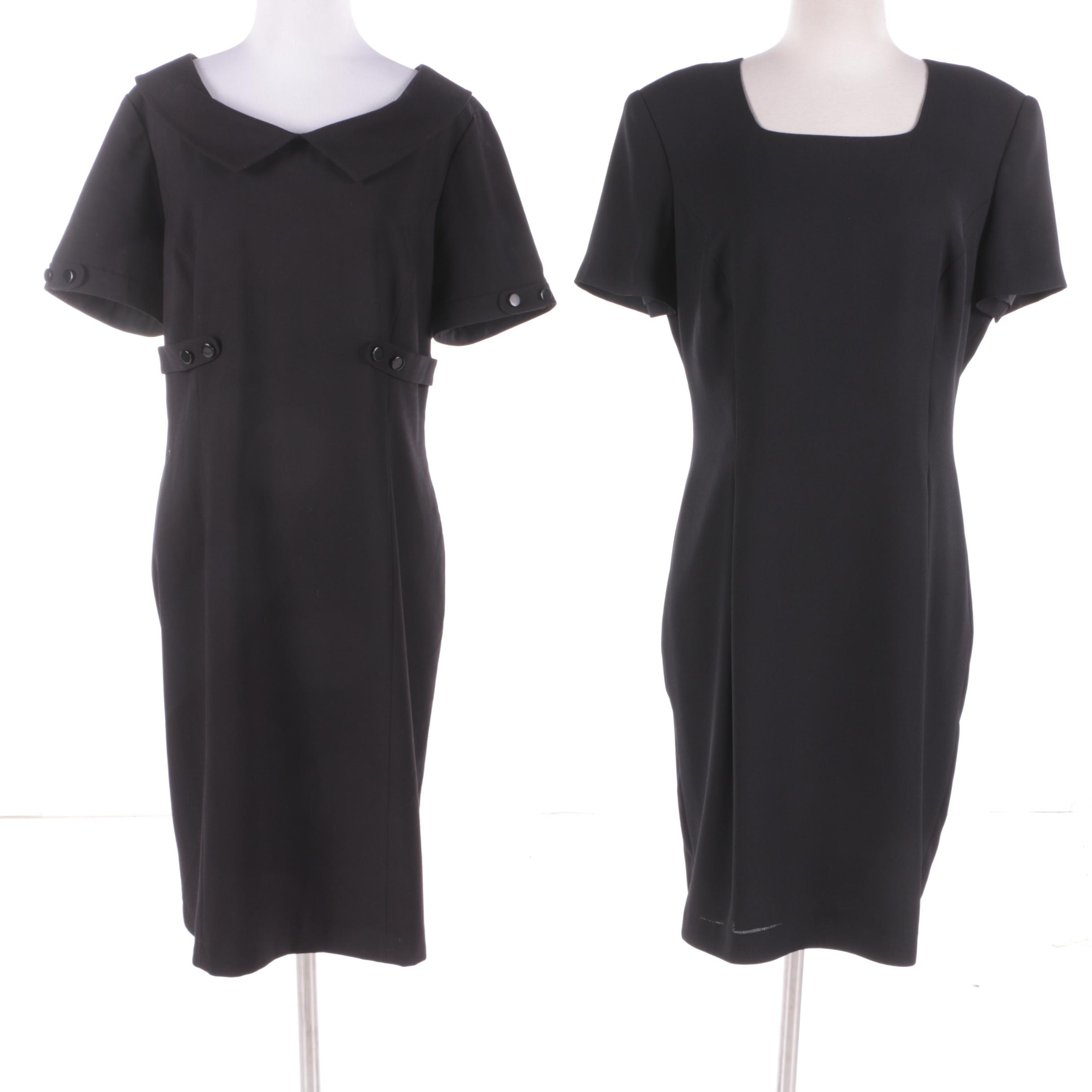 Black Dresses Including Maggy London and Studio Tahari