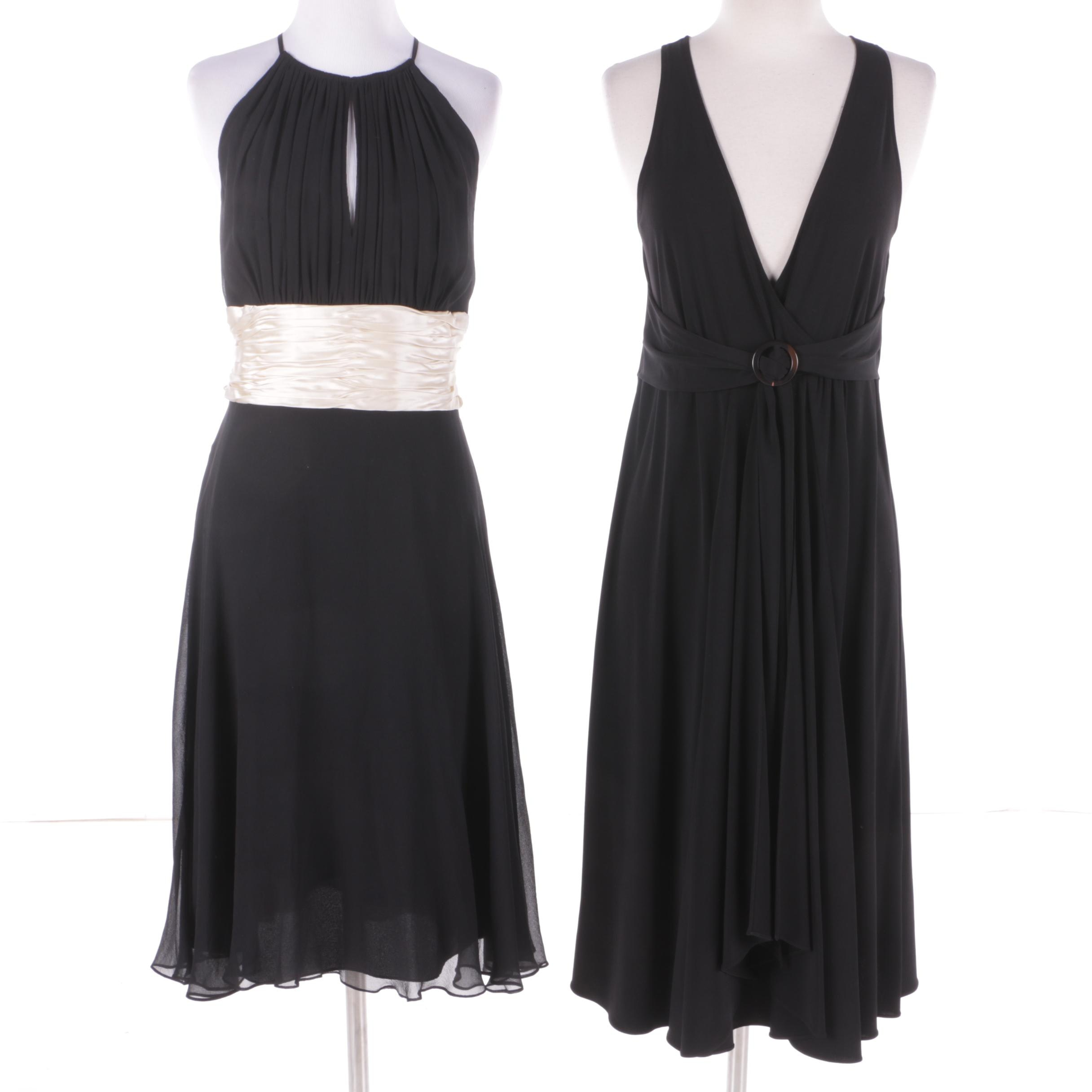 Michael Michael Kors and Maggy London Black Sleeveless Dresses