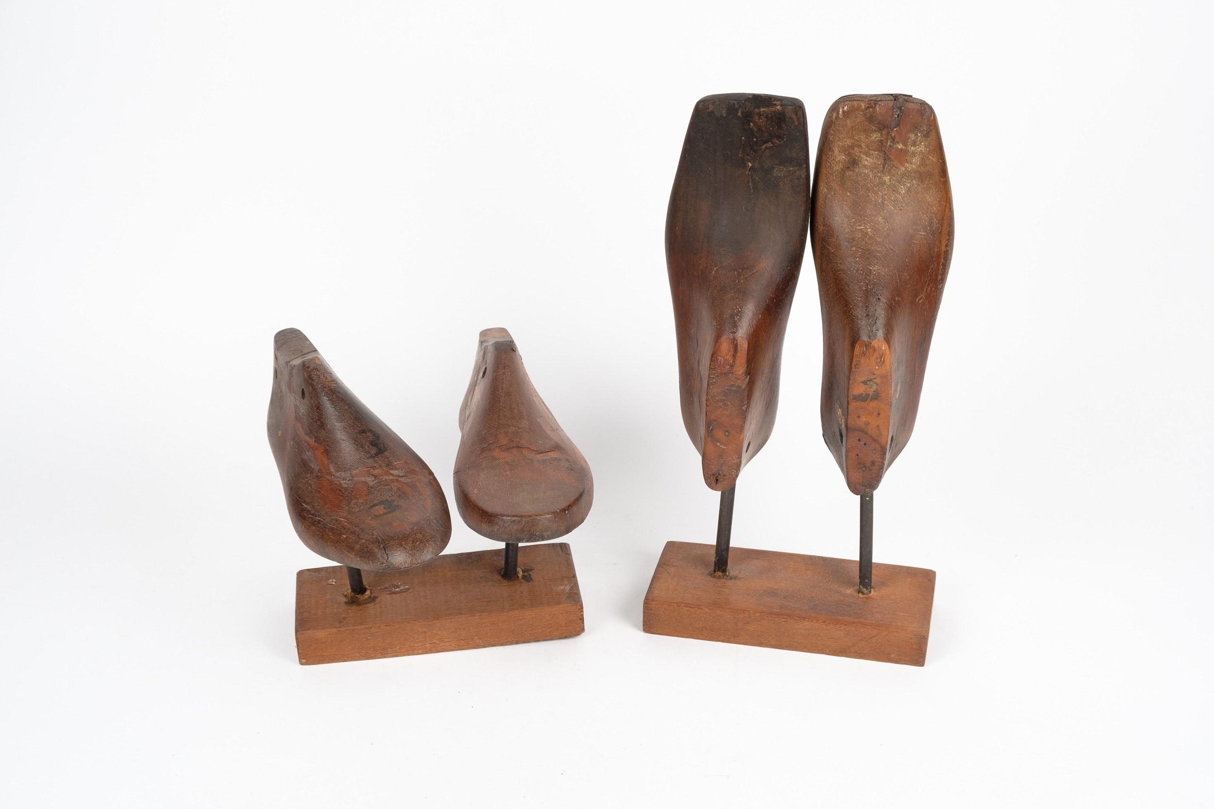 Decorative Wooden Shoe Molds