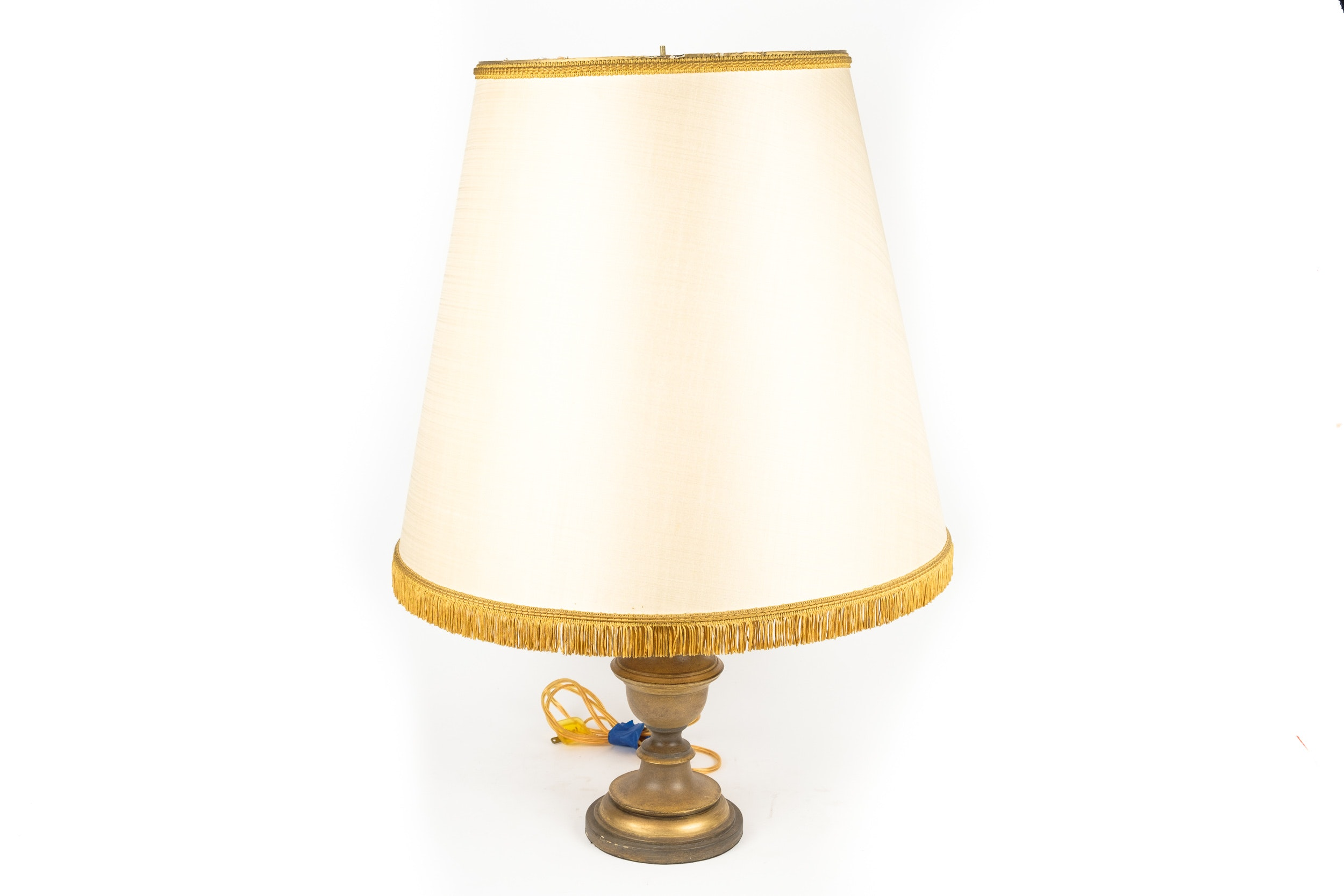 Vintage Table Lamp with Shade