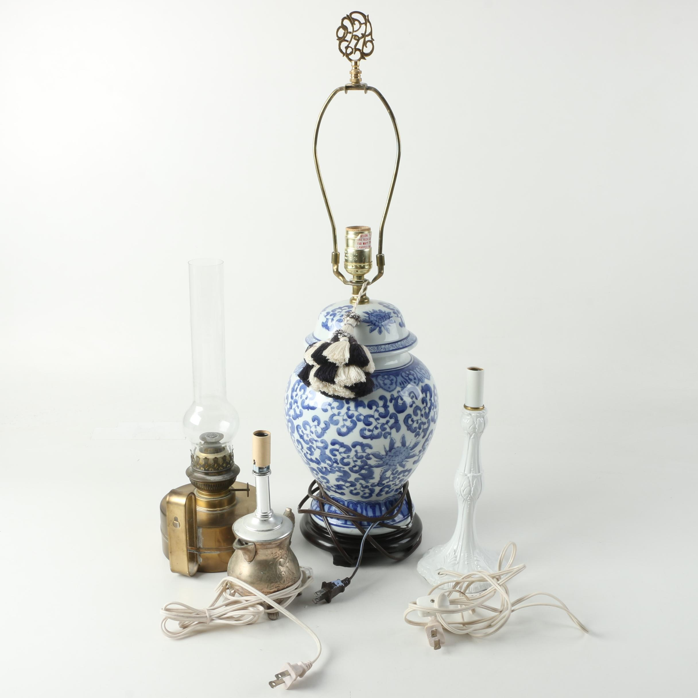 Group of Table Lamps
