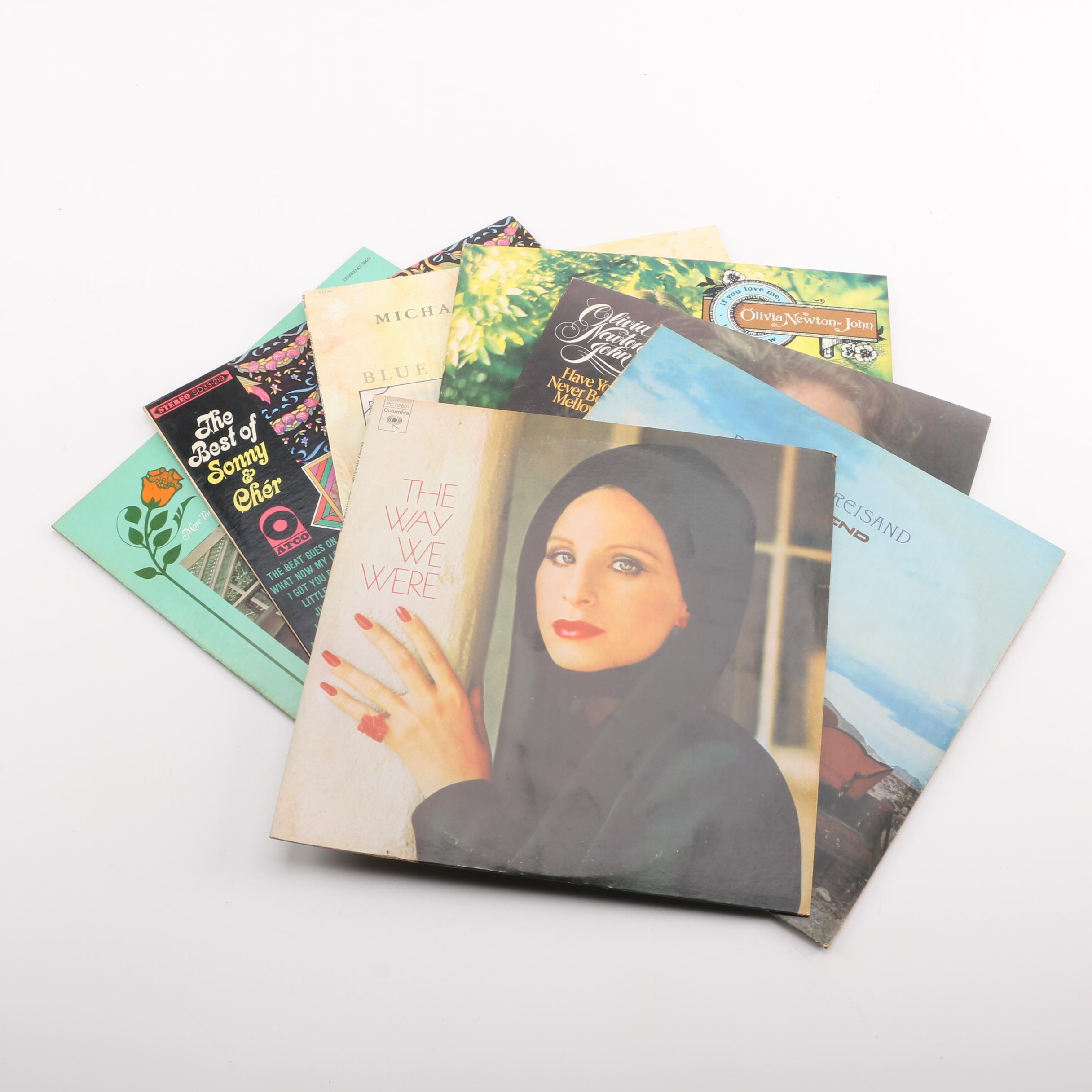 Barbra Streisand, Olivia Newton John, and Other Records