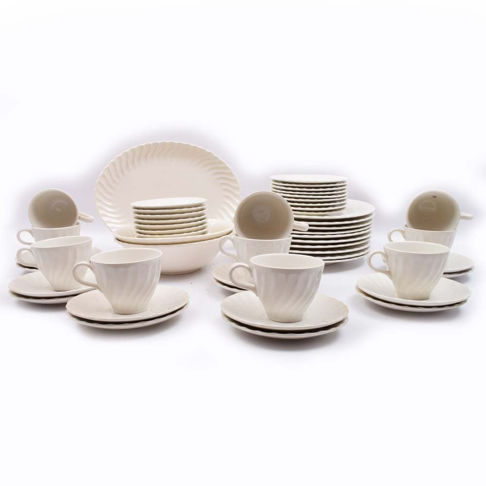 "Sheffield ""Bone White"" Dinnerware Set"