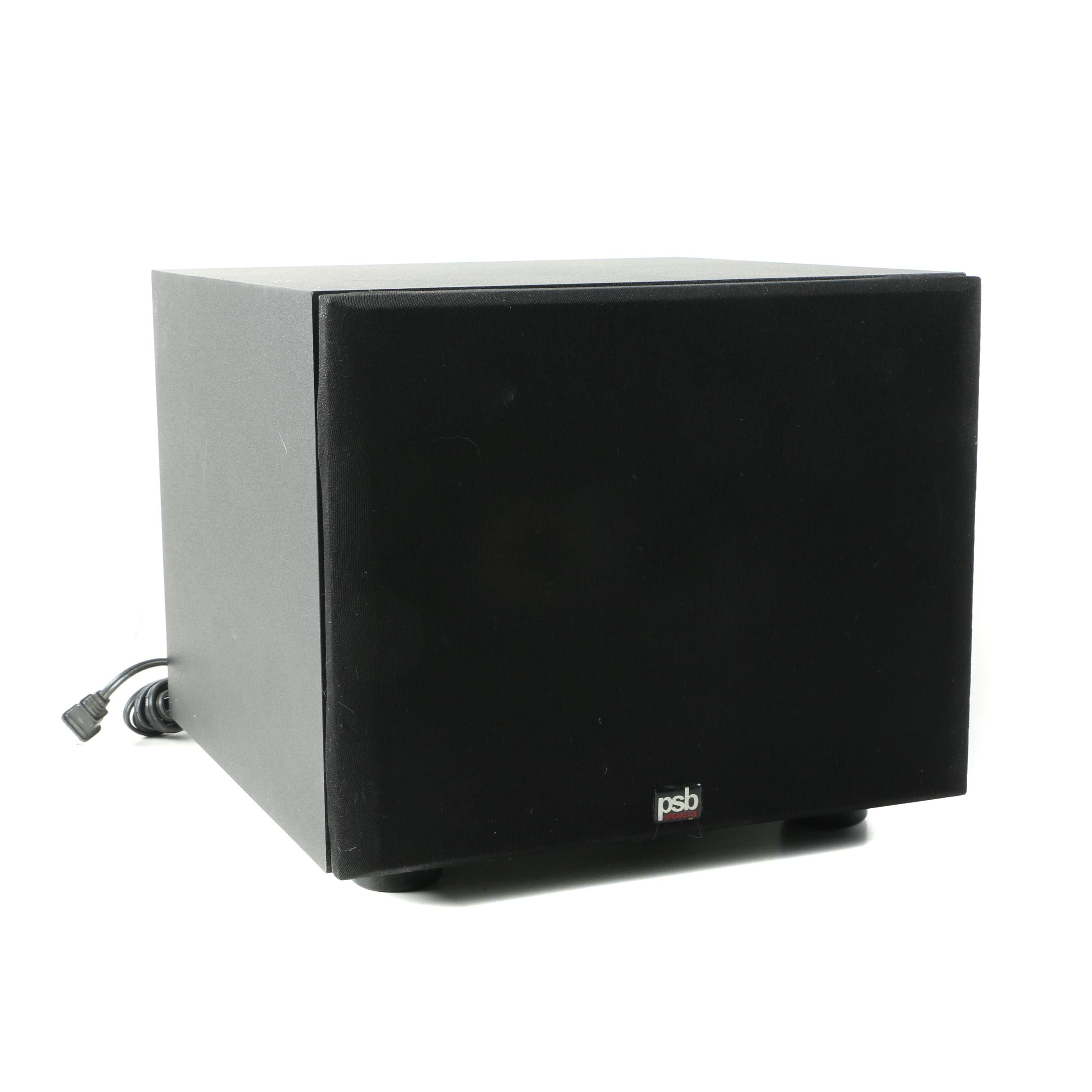 PSB Speakers Alpha SubSonic 1 Powered Subwoofer