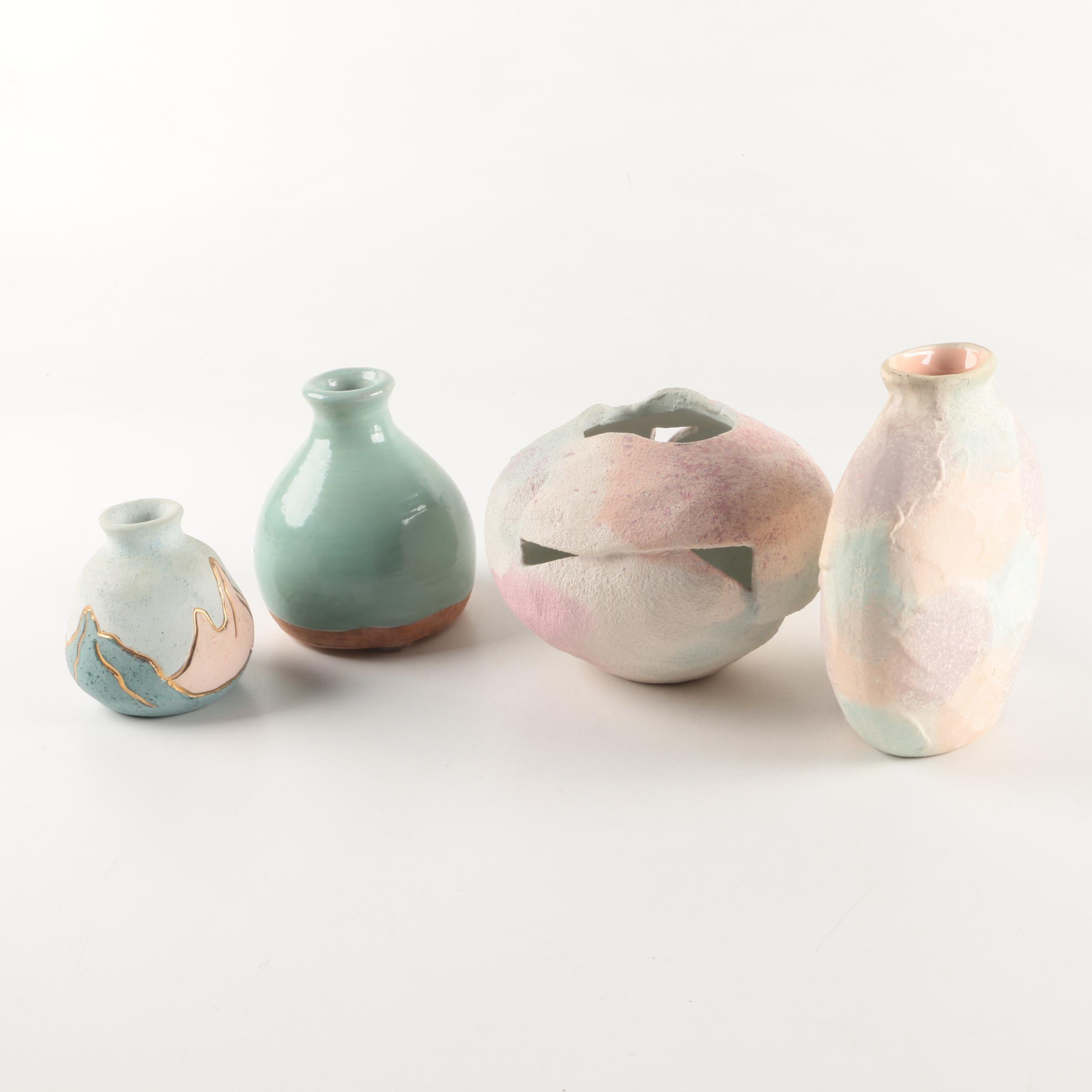Signed Art Pottery Vases
