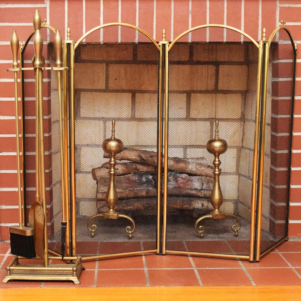 Brass Fireplace Accessories