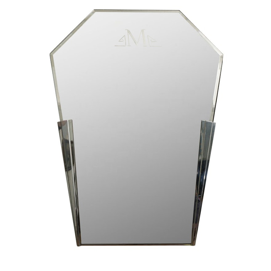 Art Deco Wall Mirror : EBTH