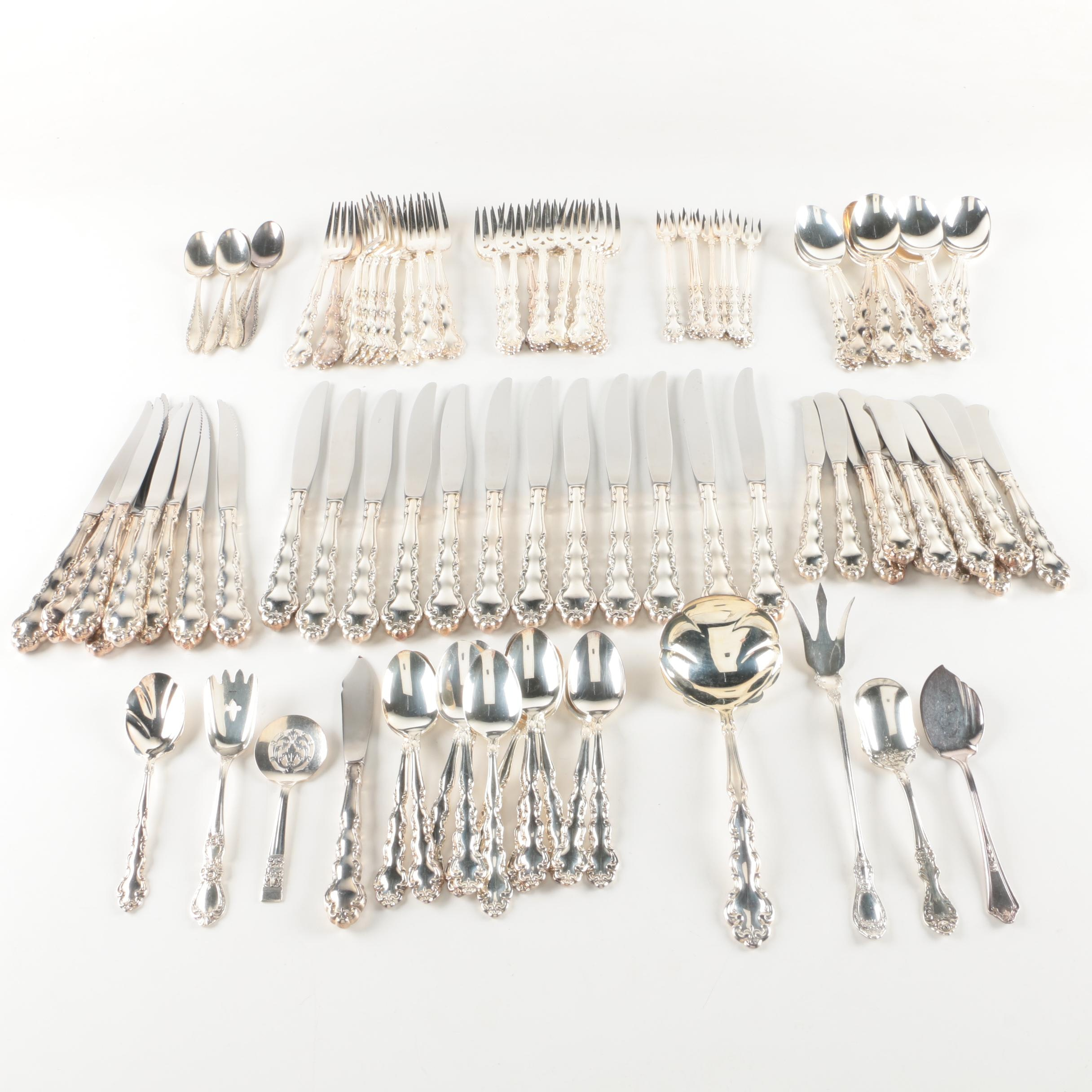 "Community Plate ""Modern Baroque"" Silver Plate Flatware and More"