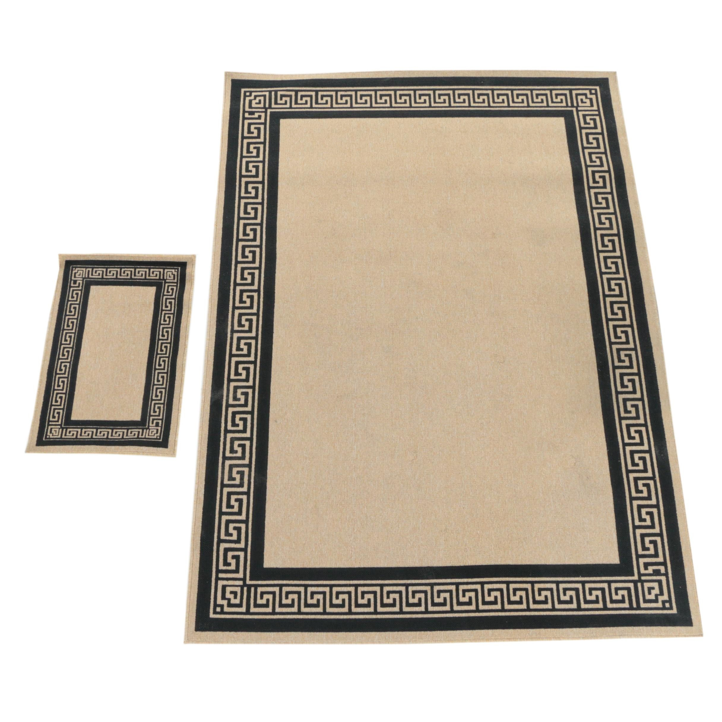 Power-Loomed Egyptian Nile Collection Synthetic Area Rug and Mat