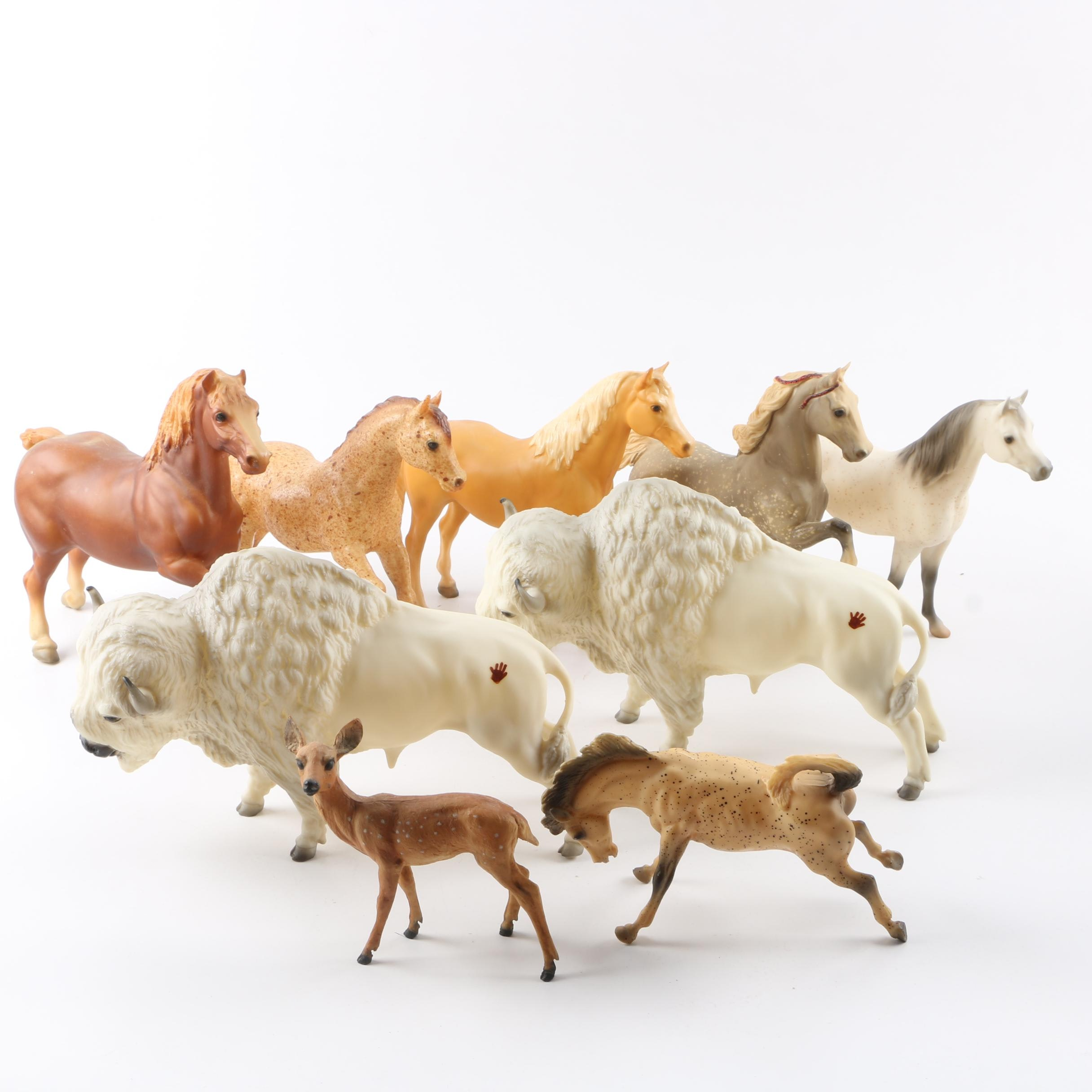 Variety of Animal Figurines