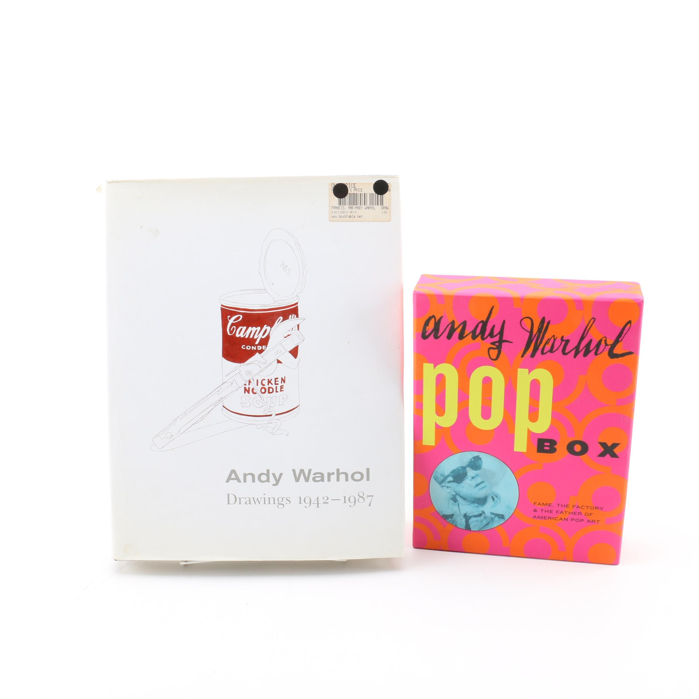 """""""Andy Warhol Drawings 1942-1987"""" Book and """"Pop Box"""" Collection"""