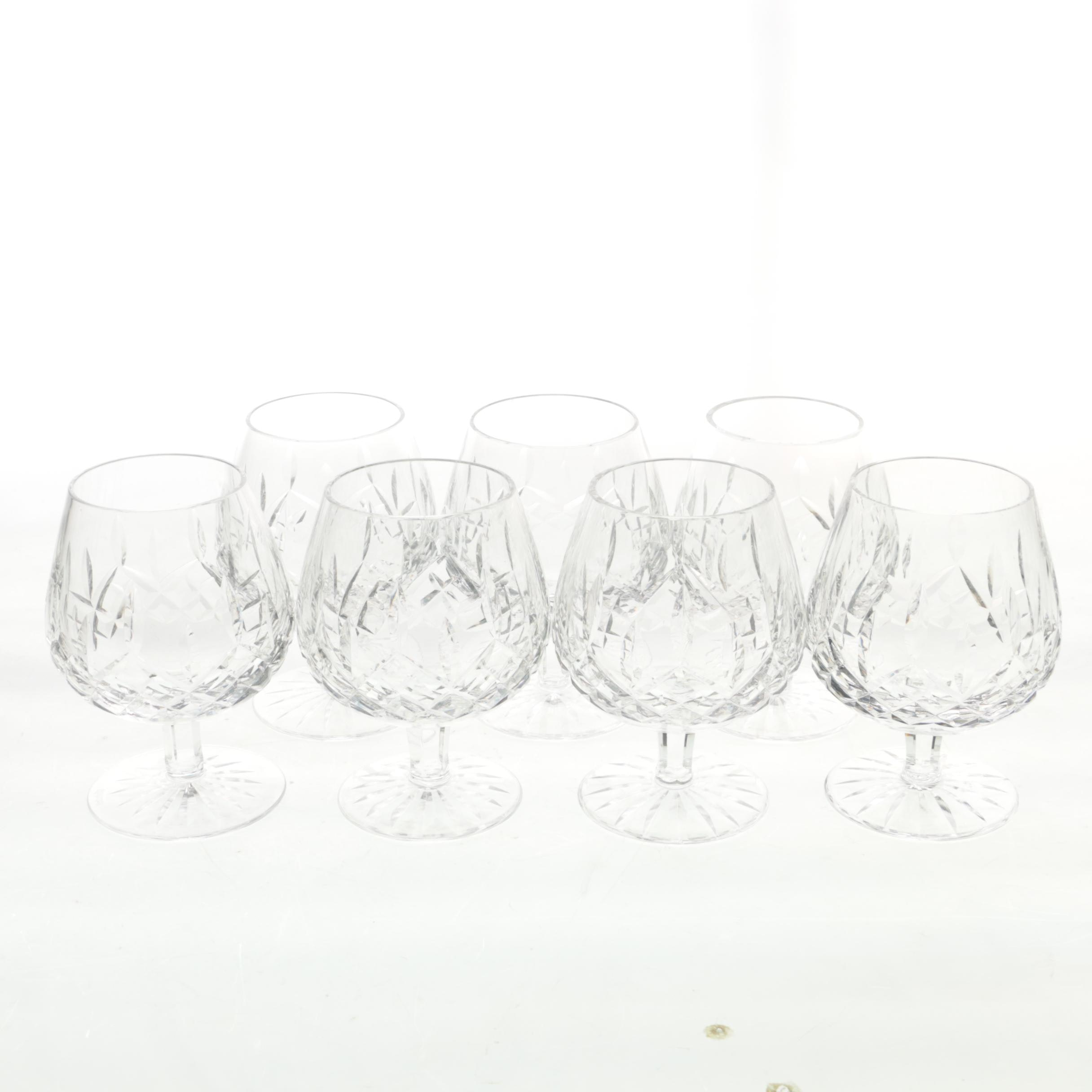 Waterford Crystal 'Lismore' Brandy Snifters