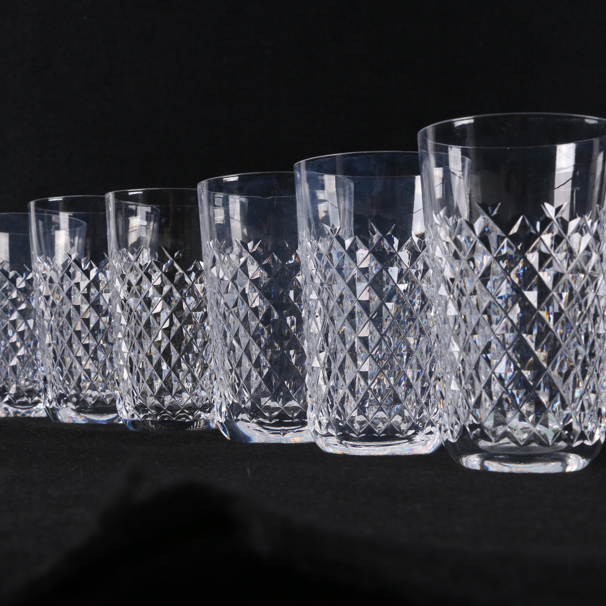 "Waterford Crystal ""Alana"" Tumblers"