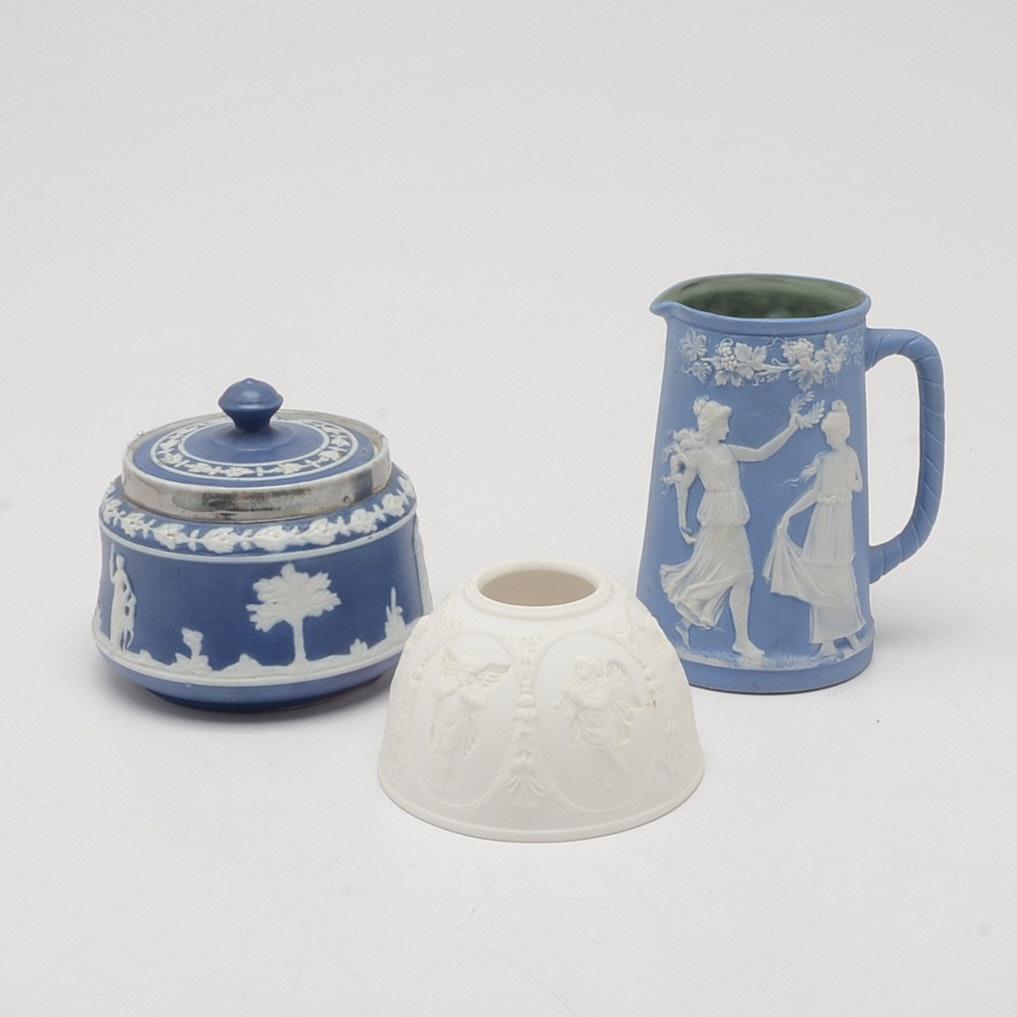 Blue and White Jasperware Decorative Tableware