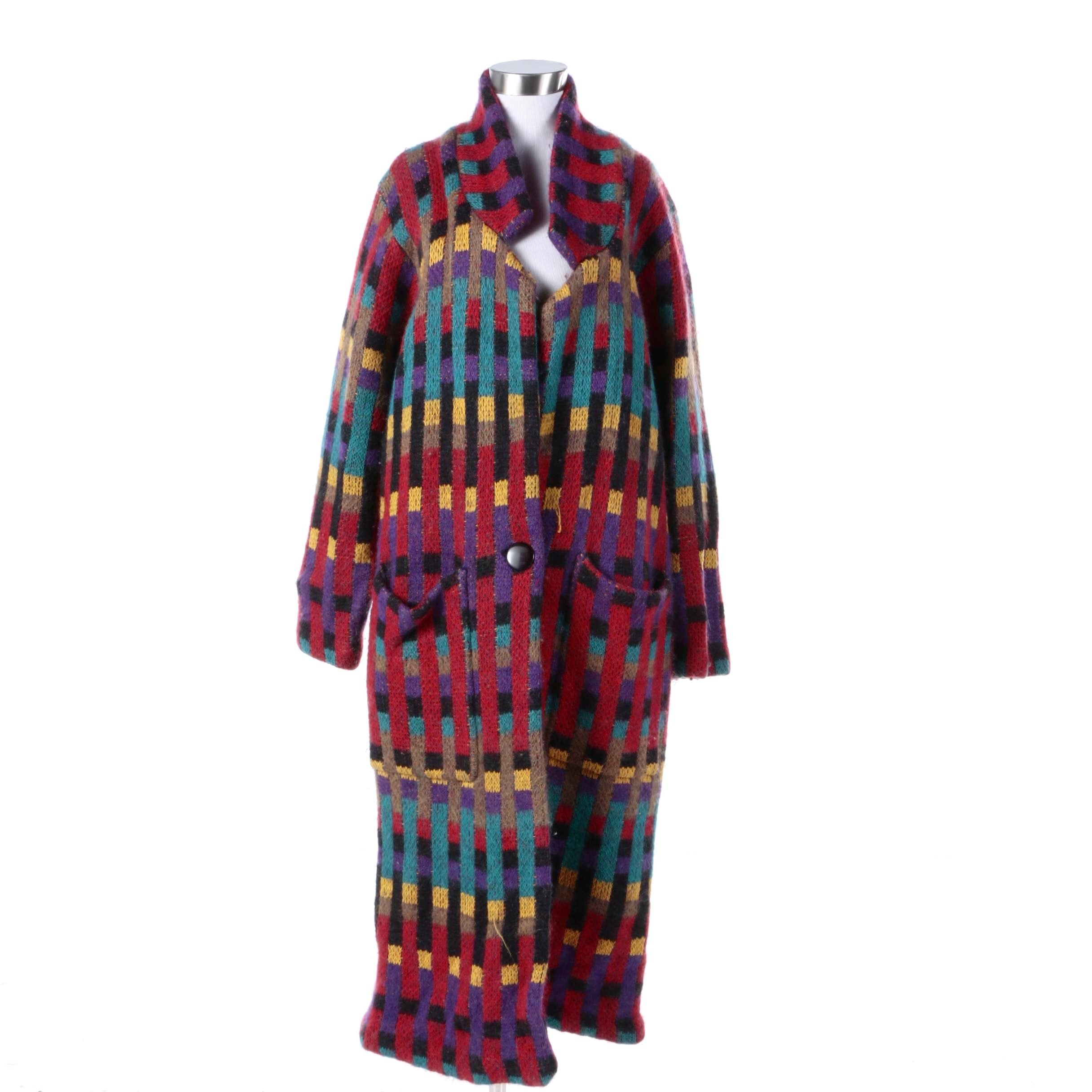 Women's I.B. Diffusion Wool Blend Duster Jacket