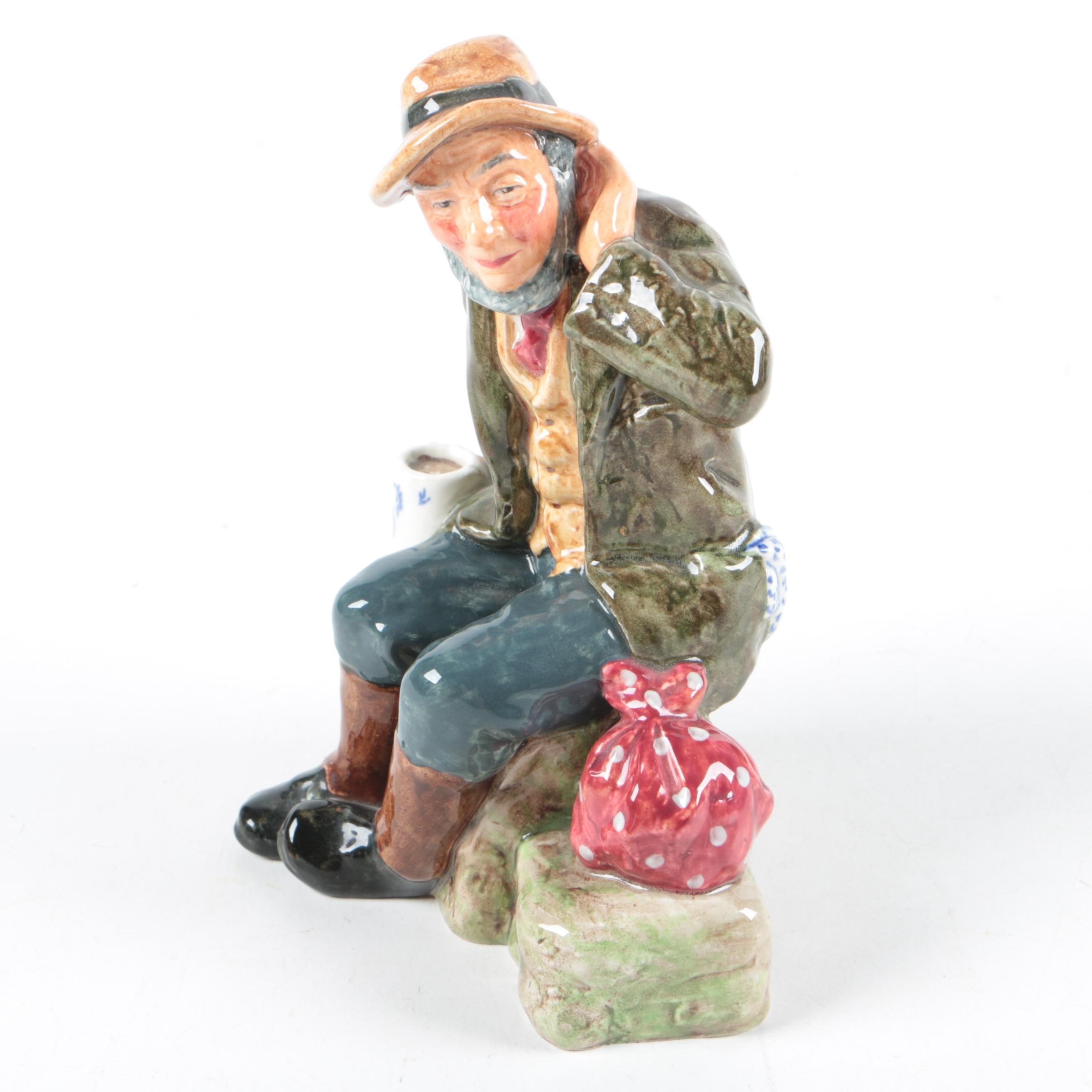 "Royal Doulton ""Owd Willum"" Figurine"