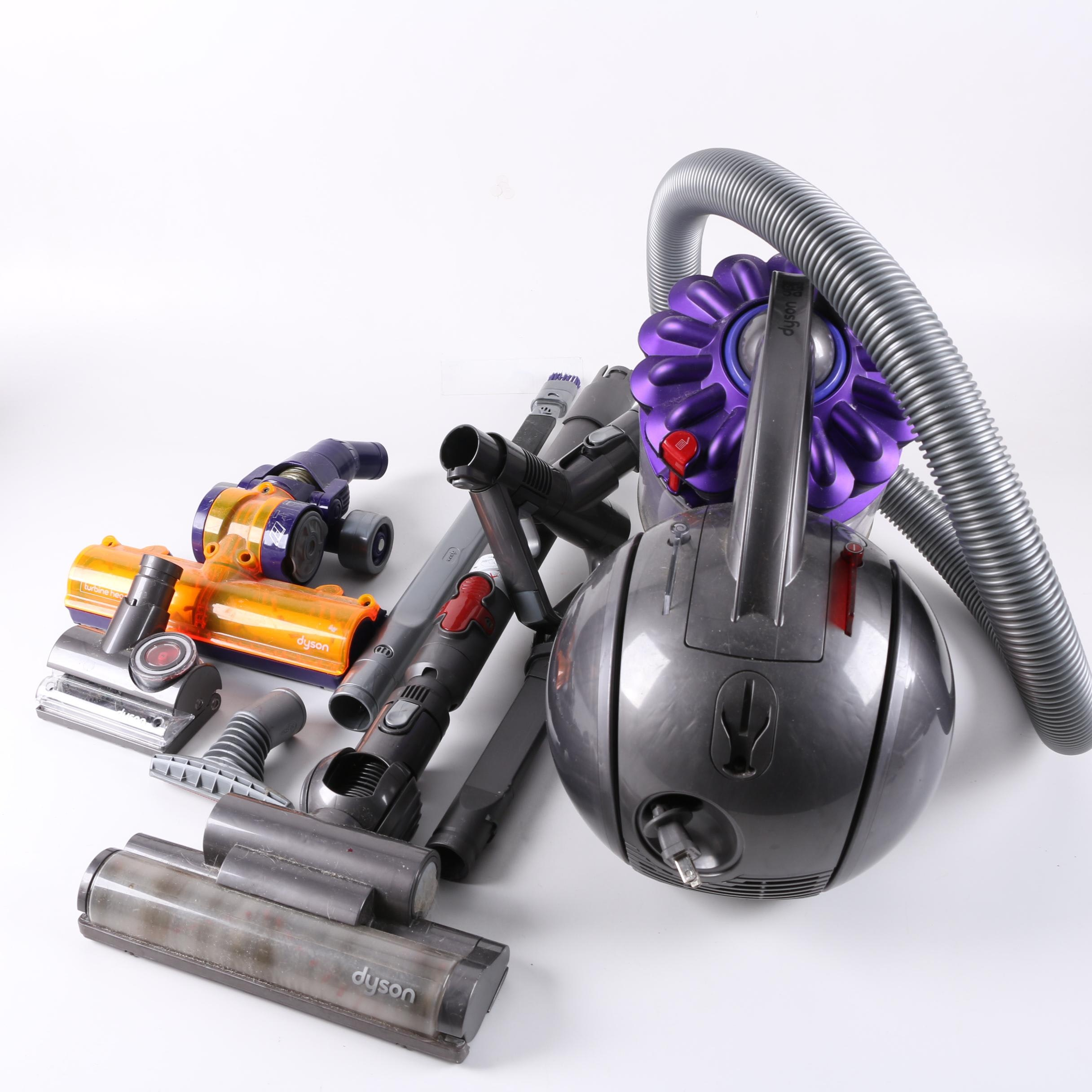 Dyson Ball Canister Vacuum Cleaner with Wand and Attachments