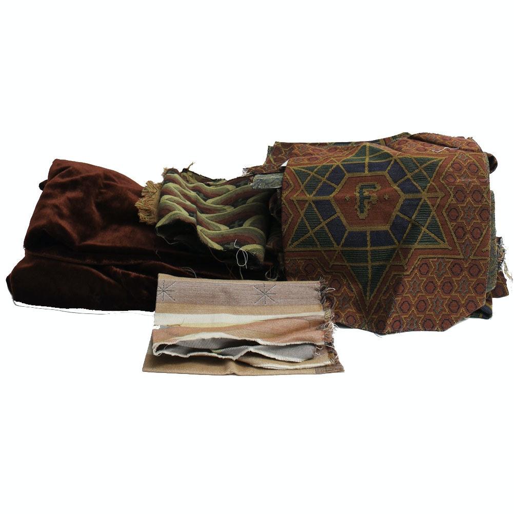 Fabric/ Carpet Remnants from Atlanta's Fox Theatre
