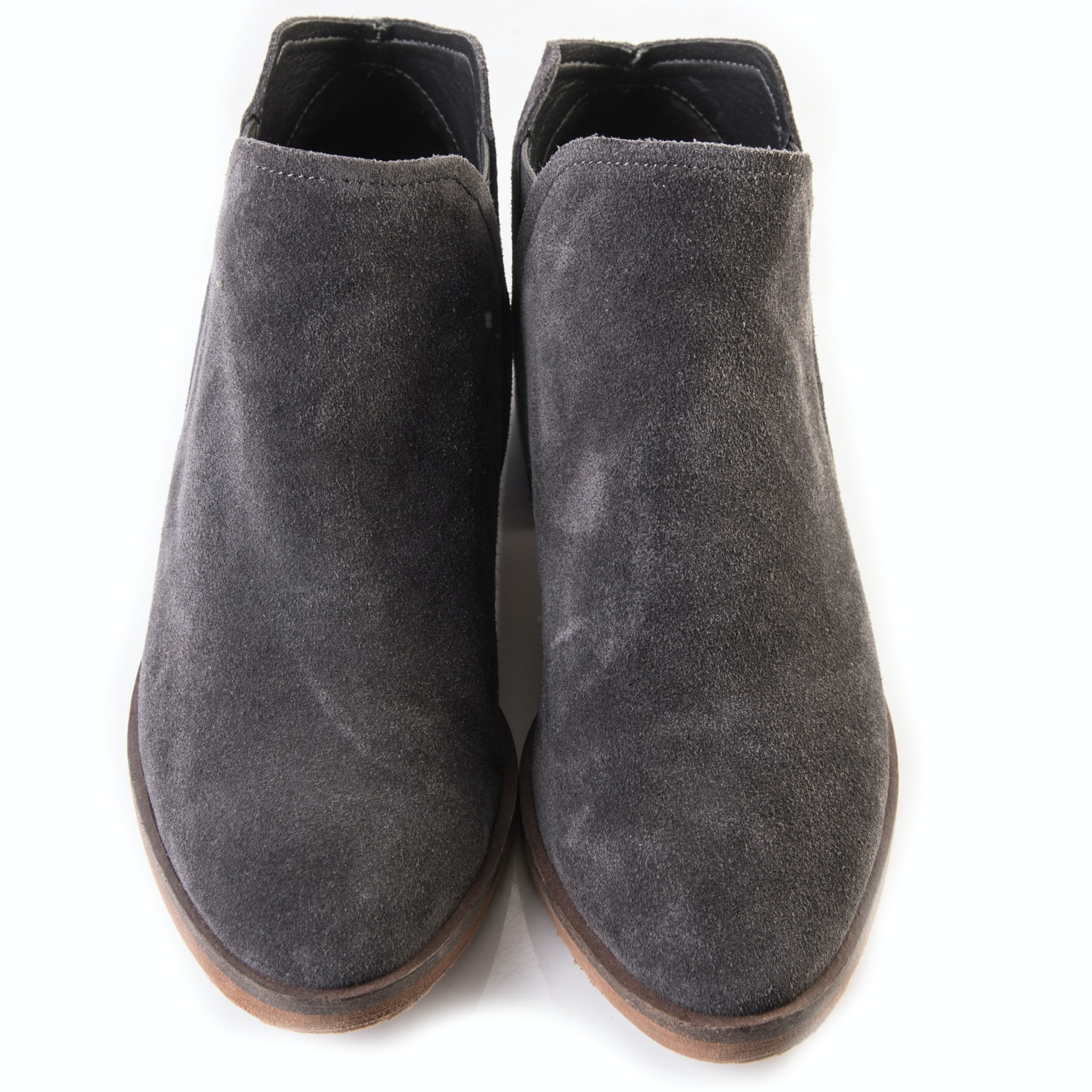 """Dolce Vita """"Tay"""" Anthracite Suede Booties"""