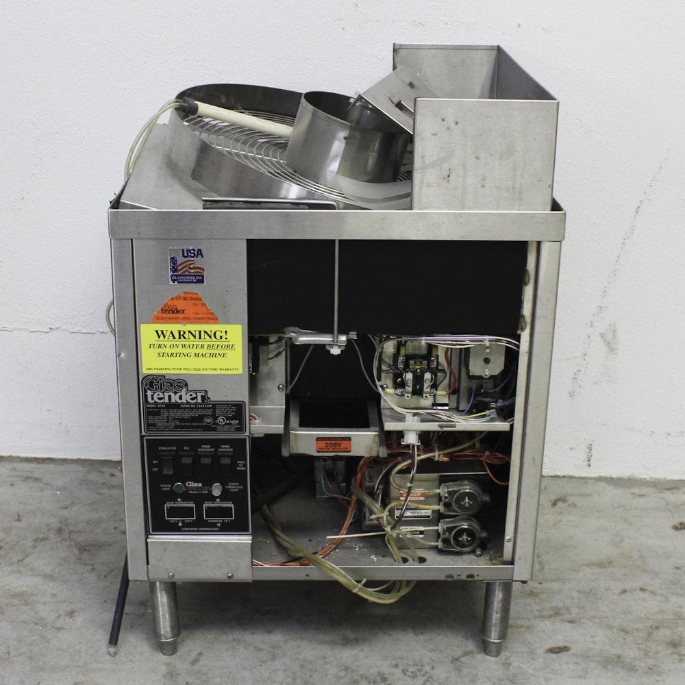 Glastender Commercial Glassware Dishwasher