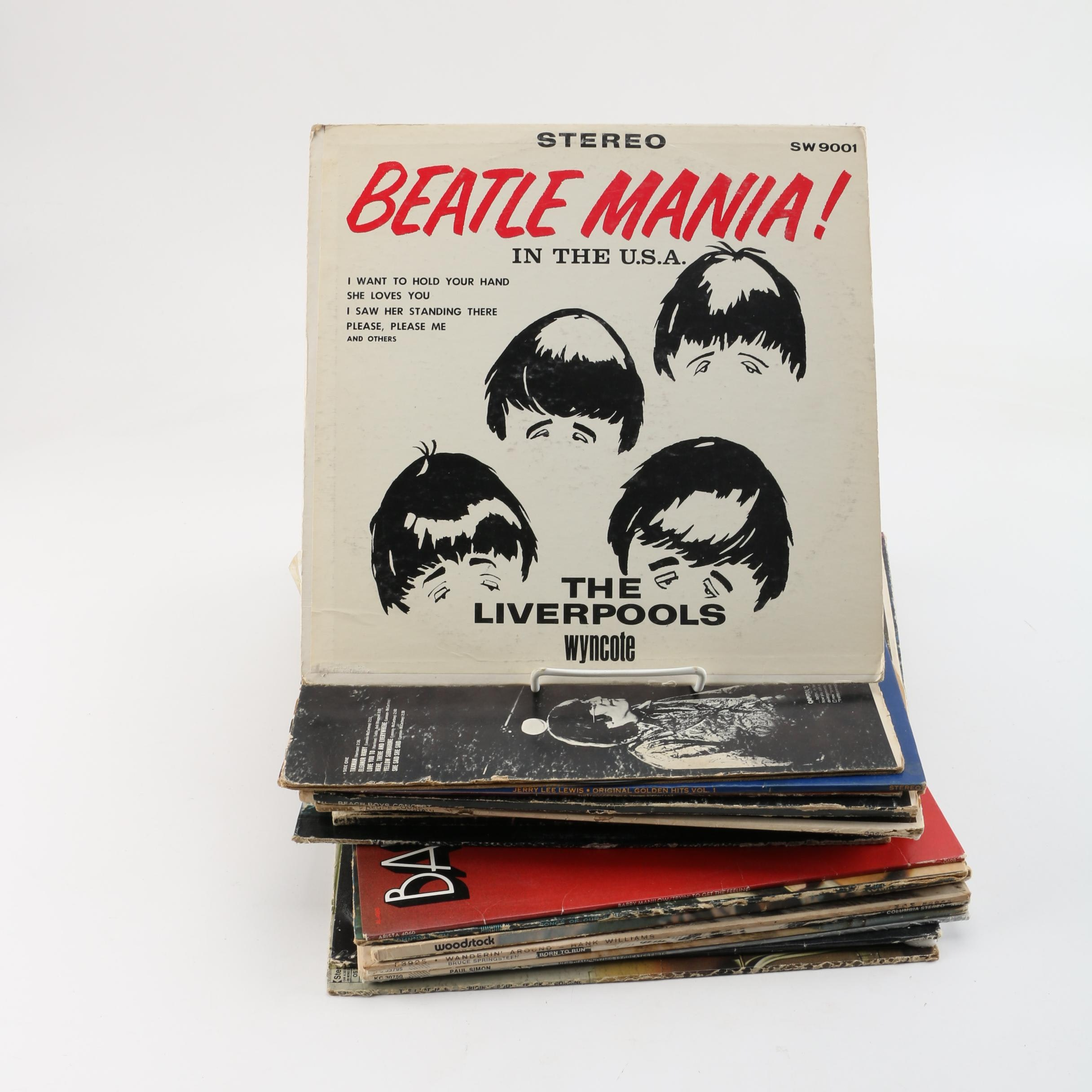 The Beatles, The Beach Boys, Johnny Cash, and Other LPs